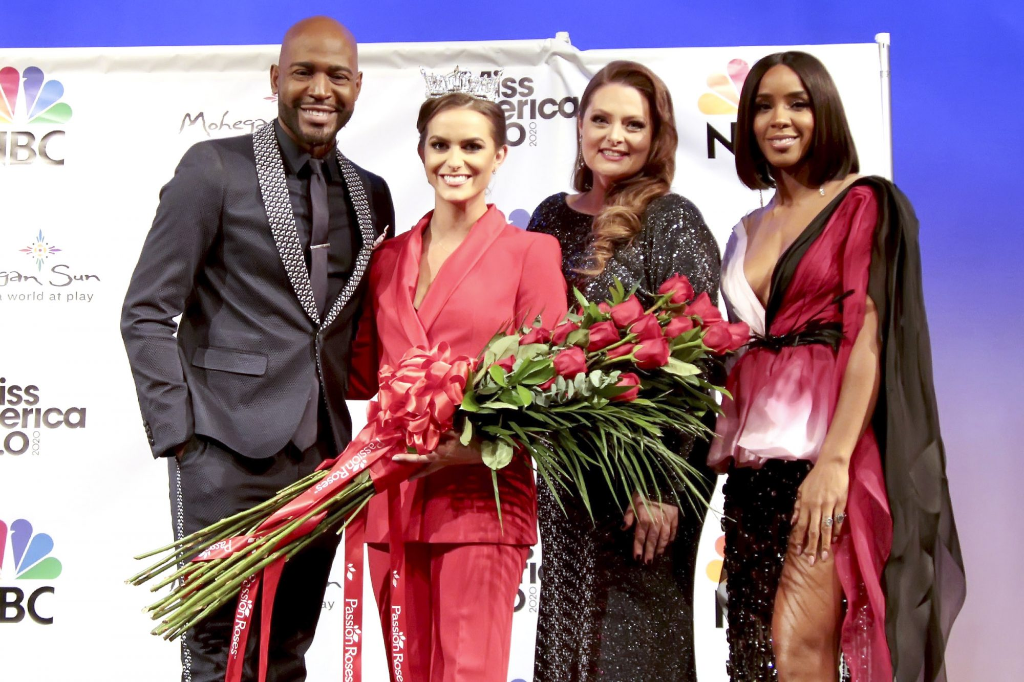 Karamo Brown, Miss America 2020 Camille Schrier, Lauren Ash and Kelly Rowland