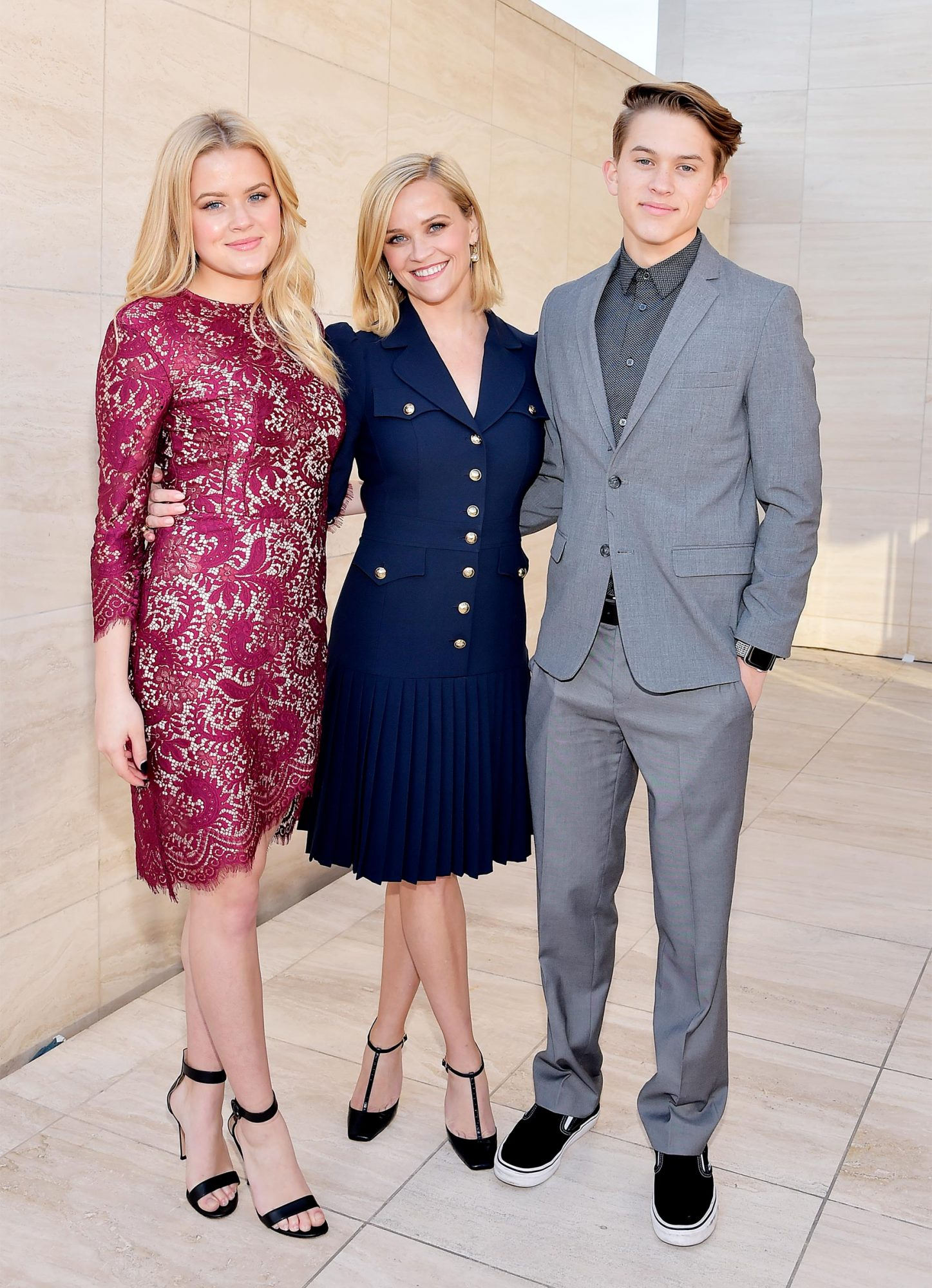 Elizabeth Phillippe, honoree Reese Witherspoon, and Deacon Reese Phillippe