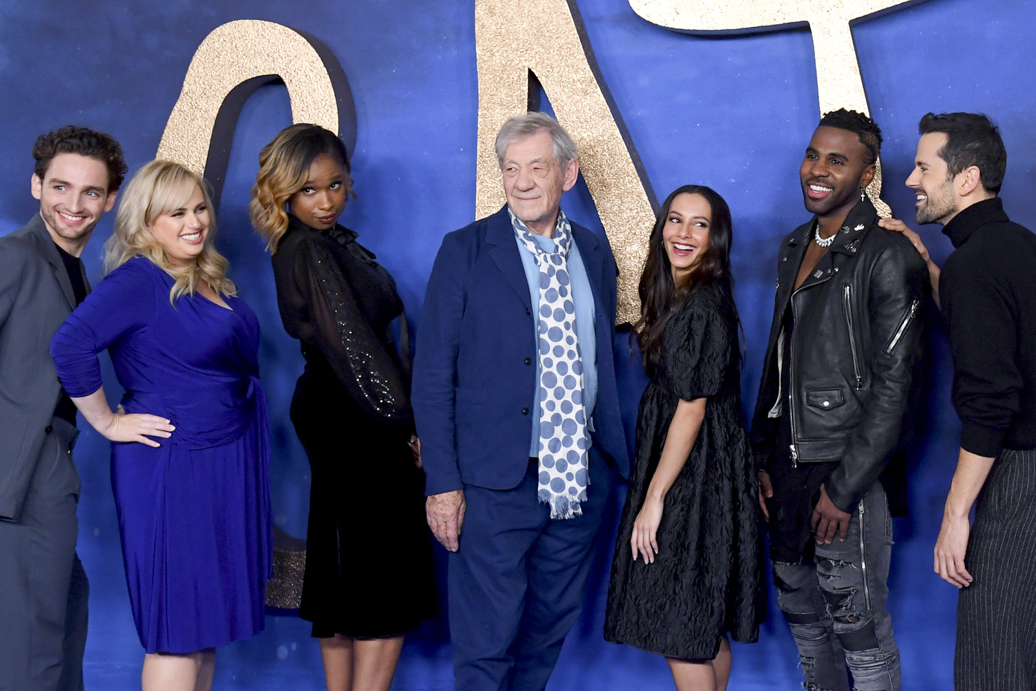 Laurie Davidson, Rebel Wilson, Jennifer Hudson, Sir Ian McKellan, Francesca Hayward, Jason Derulo and Robbie Fairchild