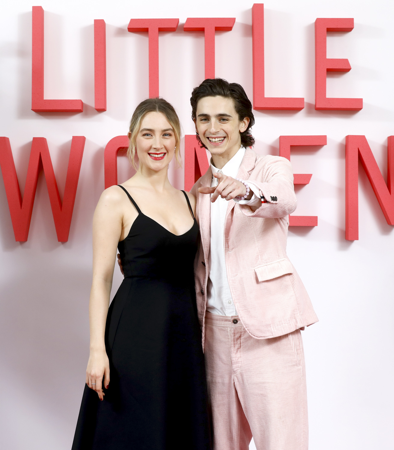 Saoirse Ronan and Timothee Chalamet