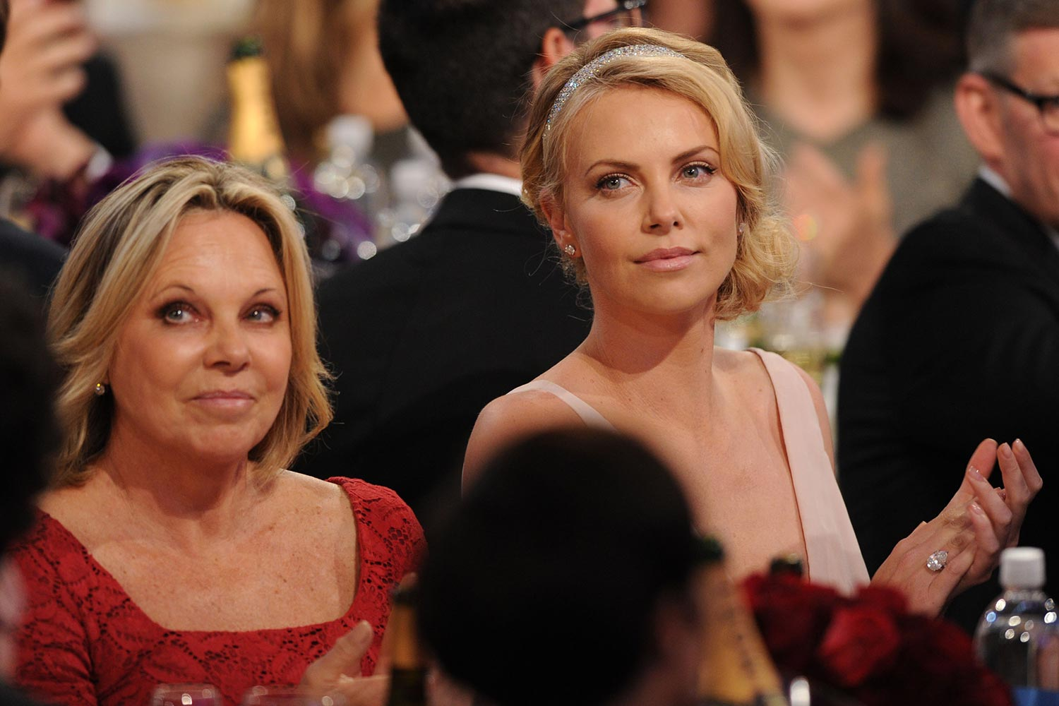 Gerda Theron, Charlize Theron