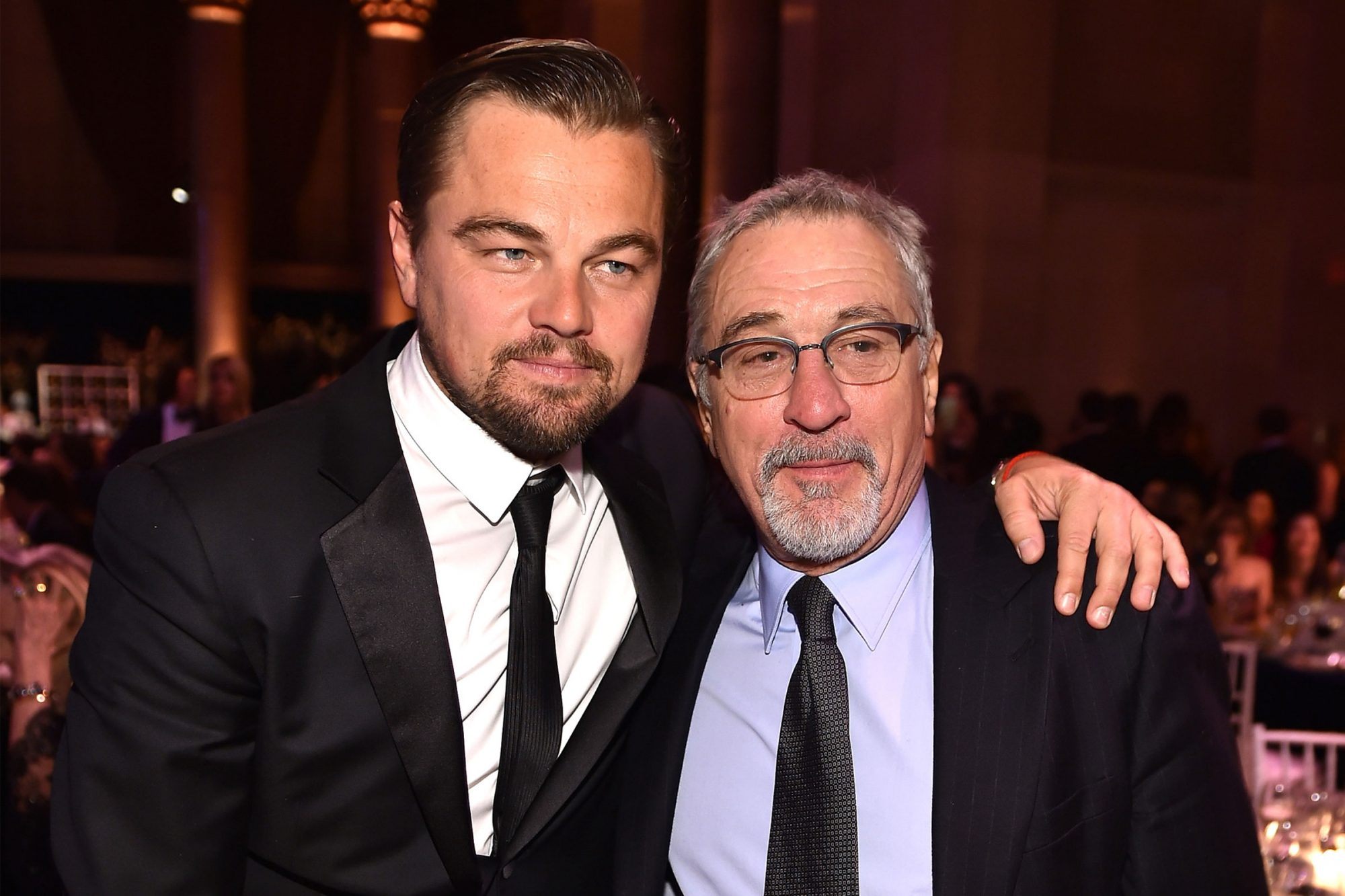 Leonardo DiCaprio and Robert De Niro
