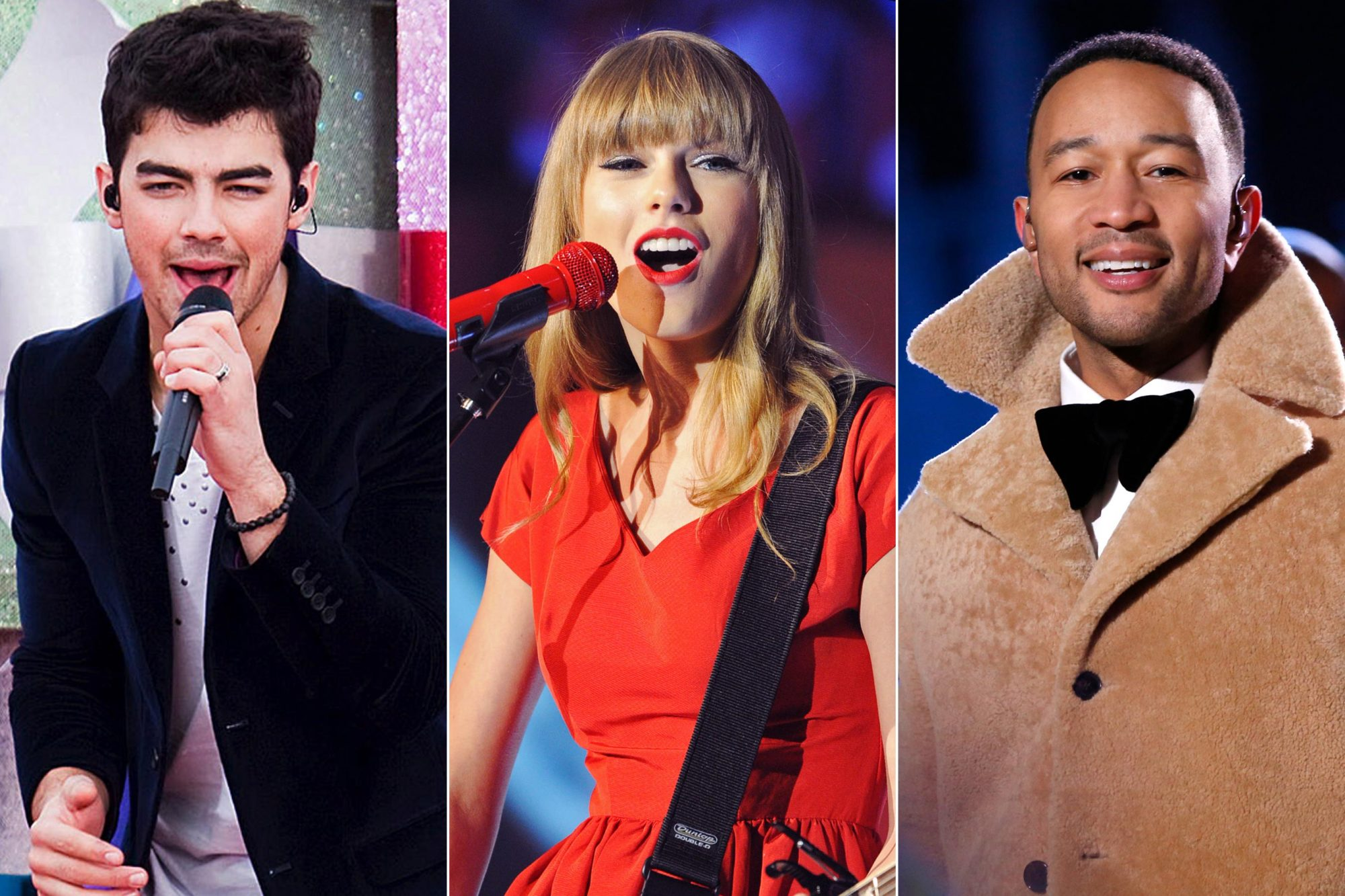 Joe Jonas, Taylor Swift, John Legend