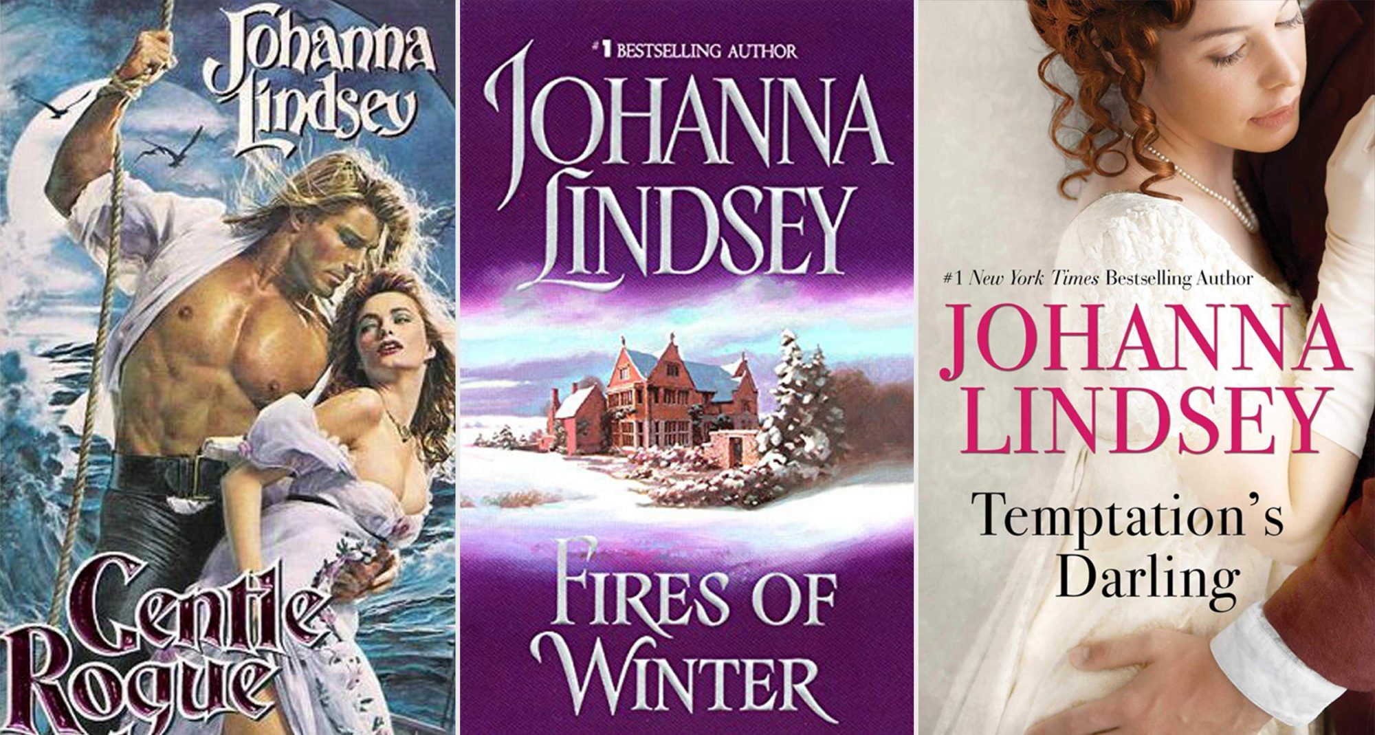 Gentle Rogue, Fires of Winter, and Temptation's Darling