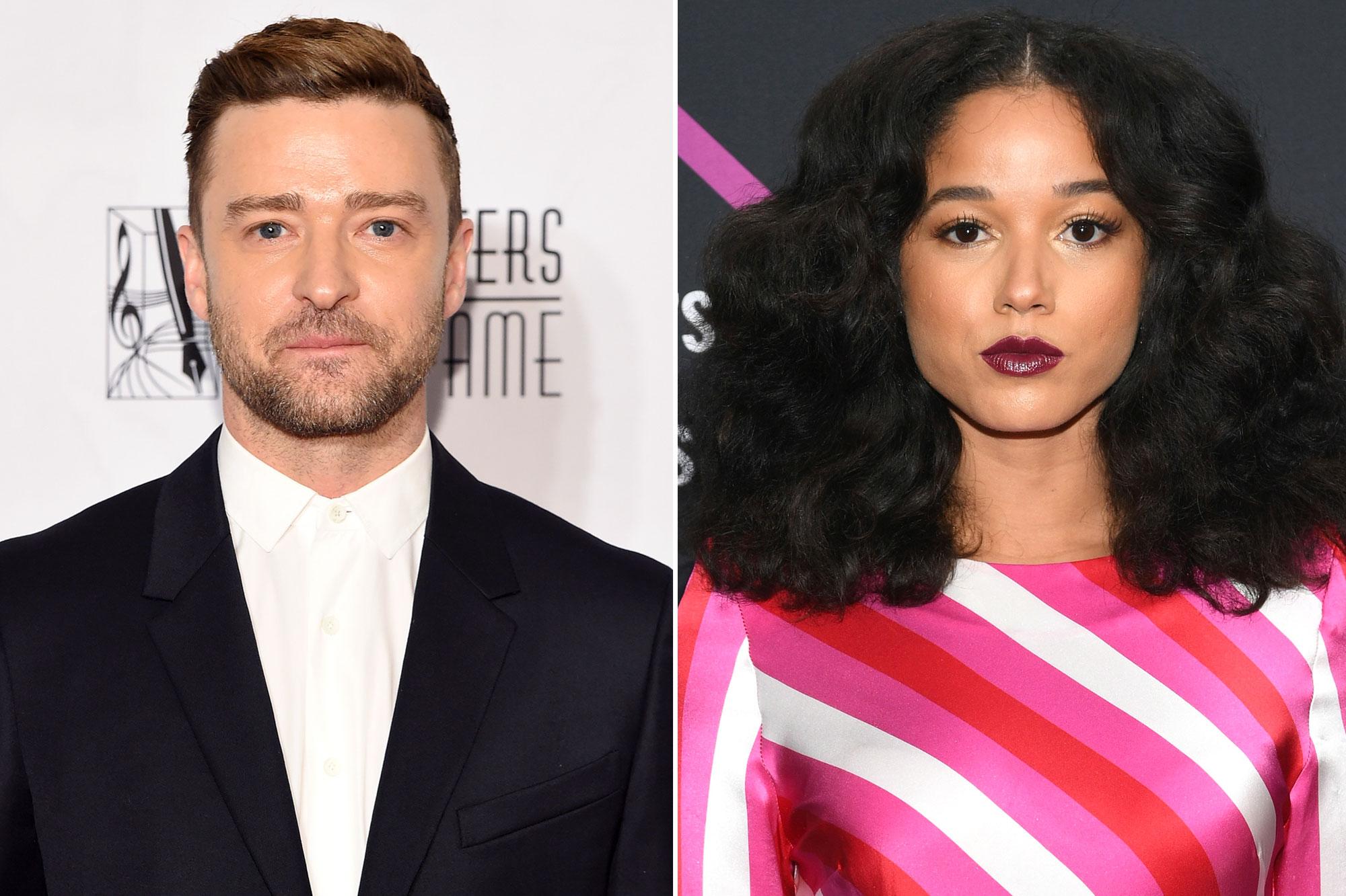 Justin Timberlake and Alisha Wainwright