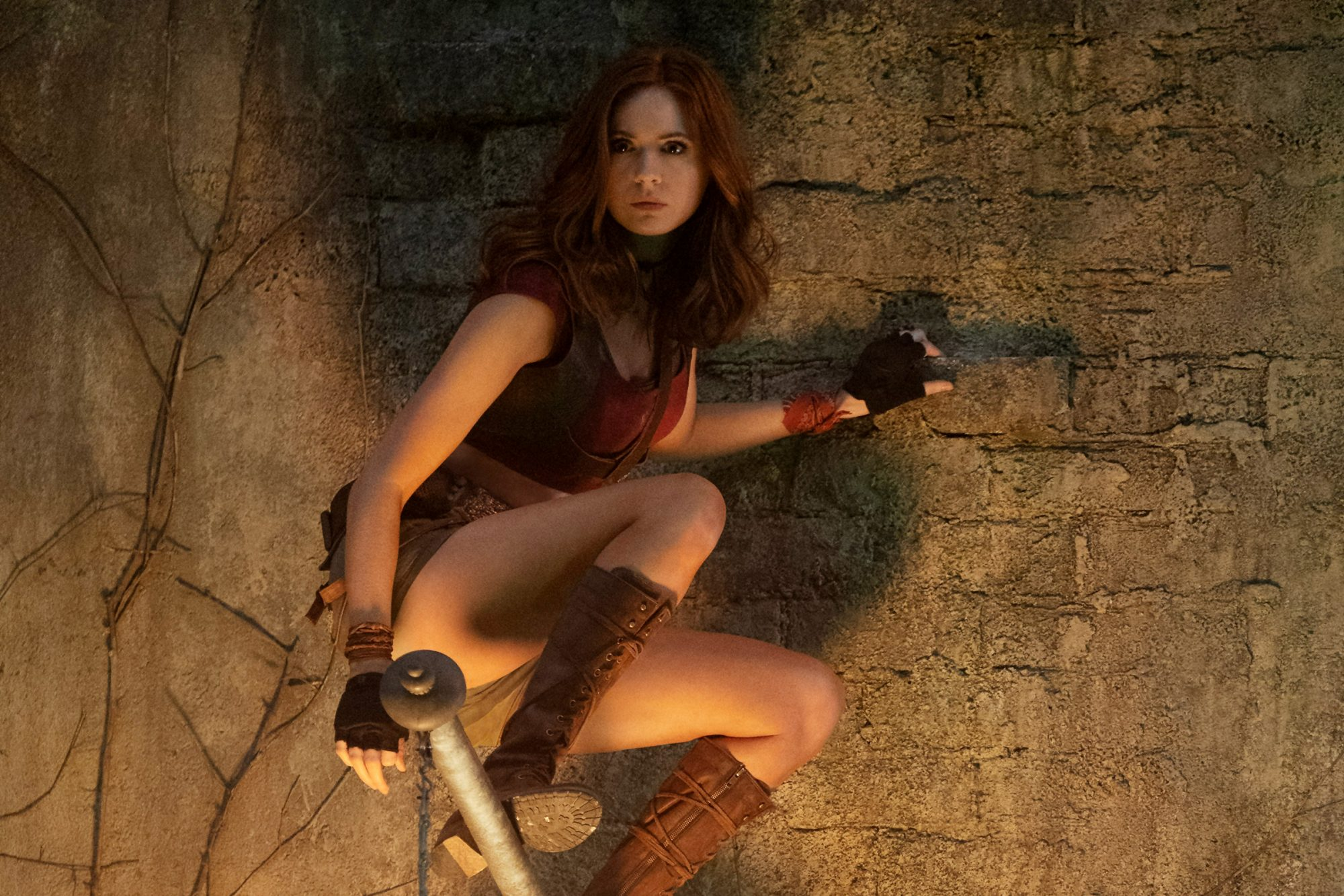 Karen Gillan star in Jumanji: The Next Level