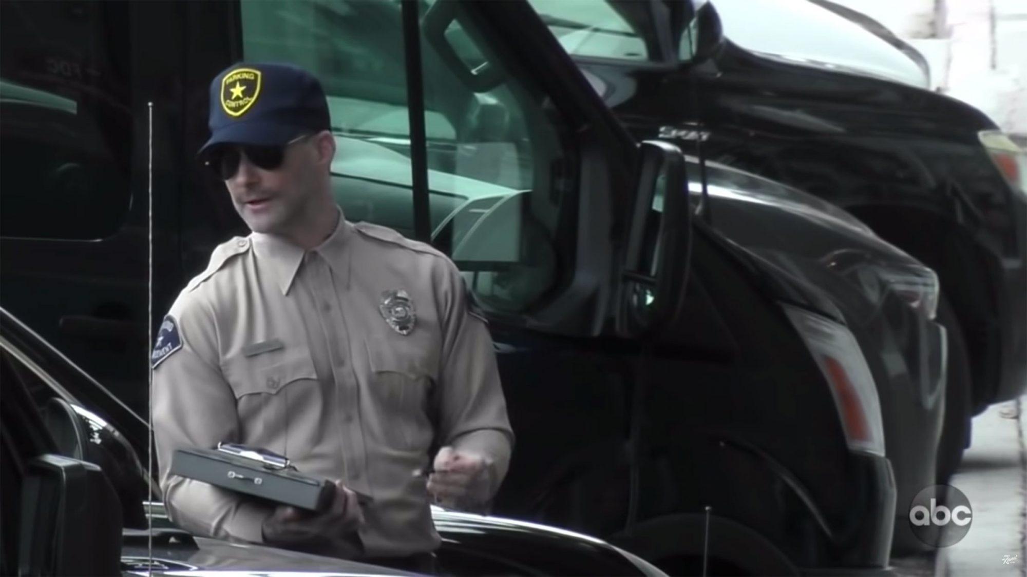 Jimmy Kimmel Live Adam Levine Pranks Drivers in LA