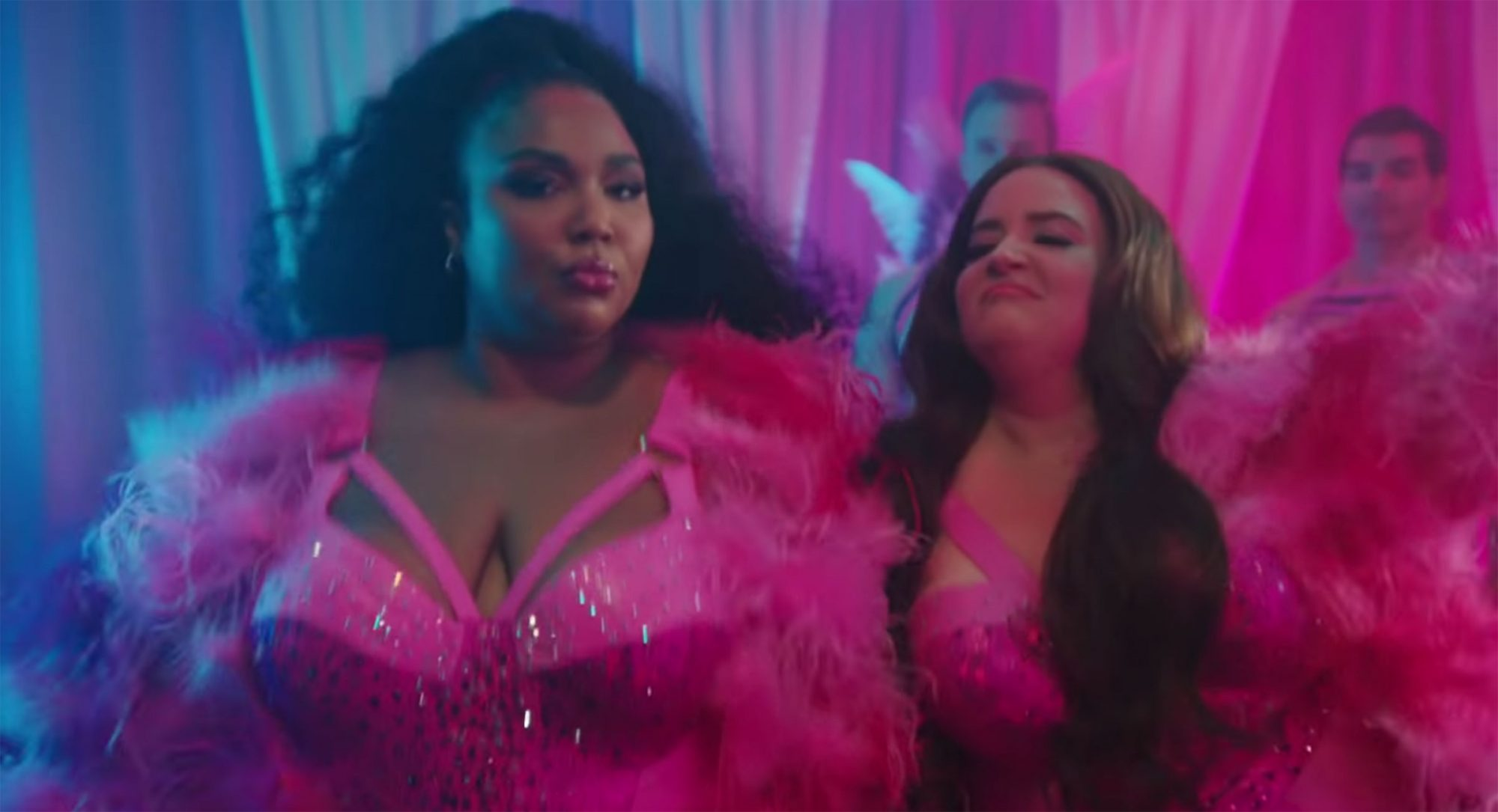 Lizzo and Aidy Bryant