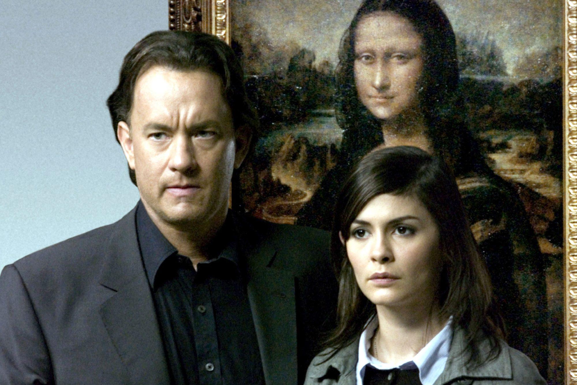 THE DA VINCI CODE, Tom Hanks, Audrey Tautou, 2006, (c)Columbia/courtesy Everett Collection