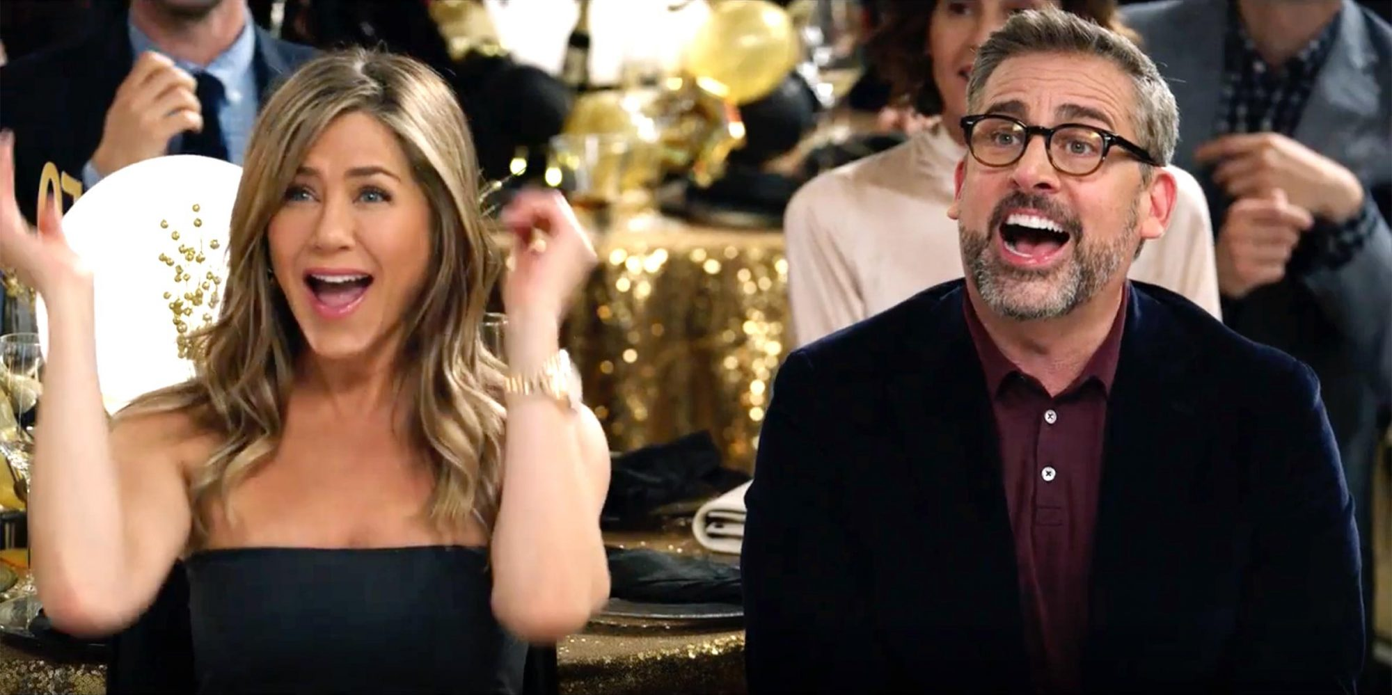 Jennifer Aniston and Steve Carell