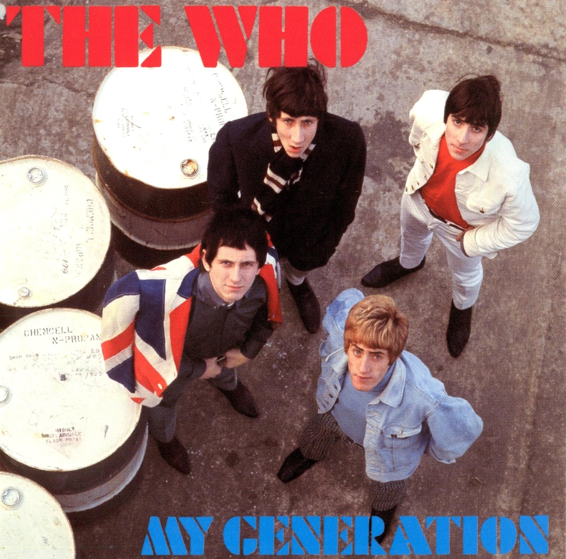 My Generation (1964) Album Artwork