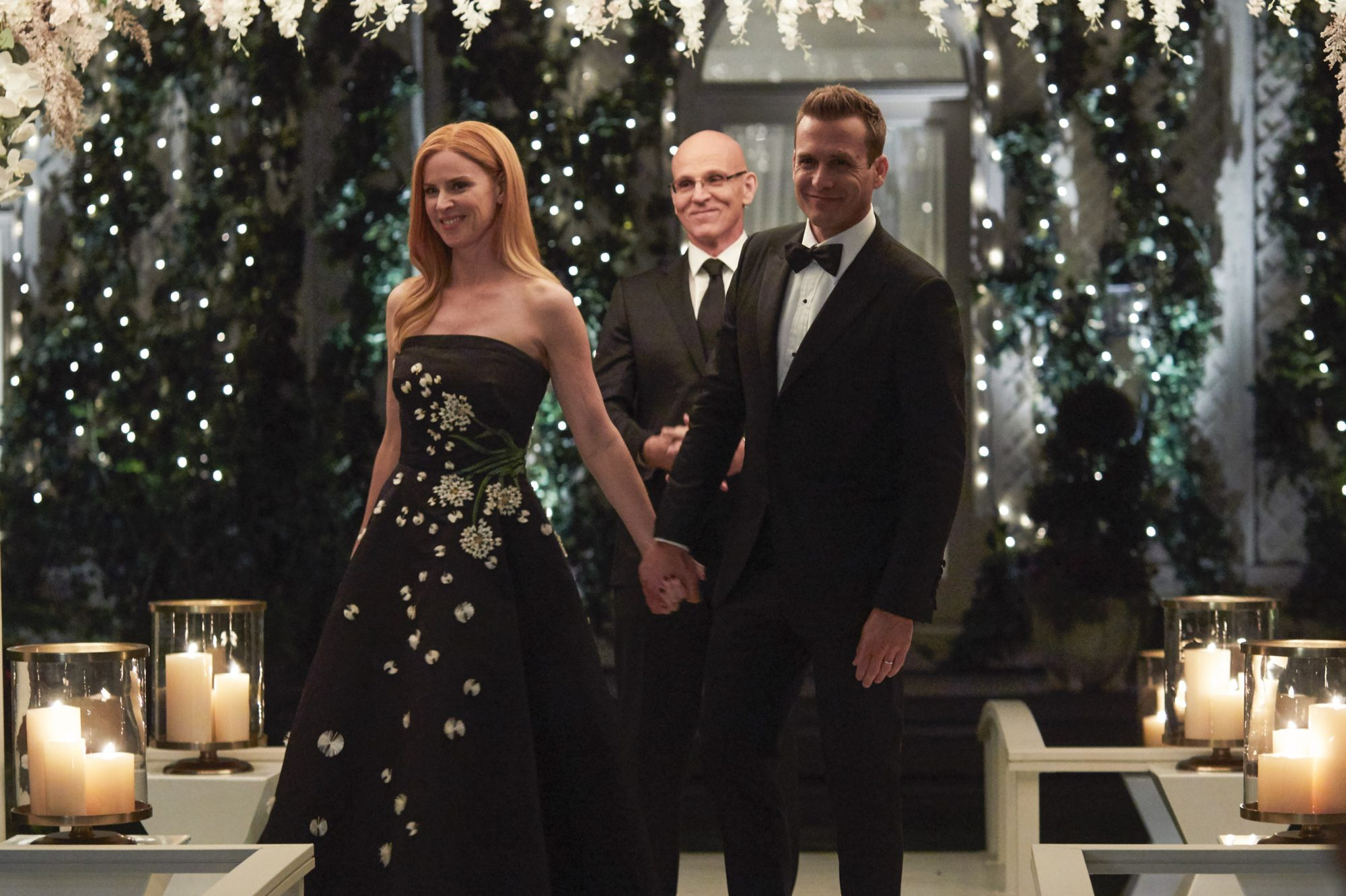 Harvey and Donna get married, Suits