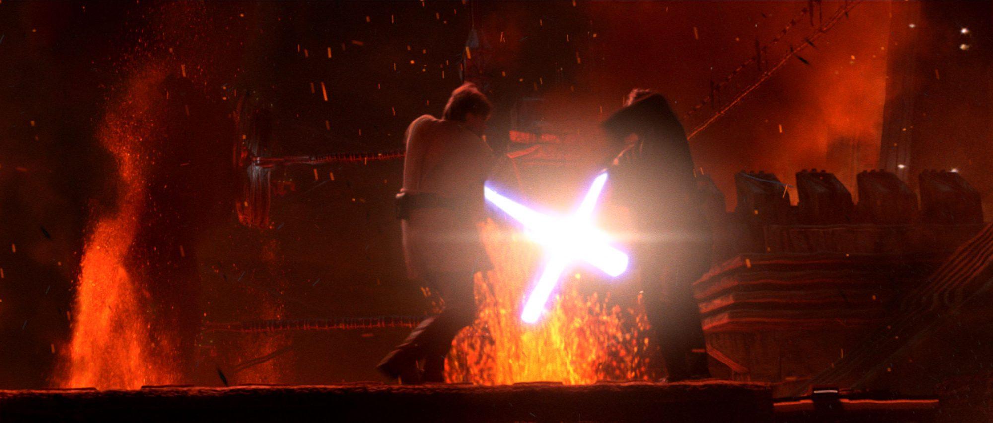 The Best Star Wars Lightsaber Battles Ranked Ew Com