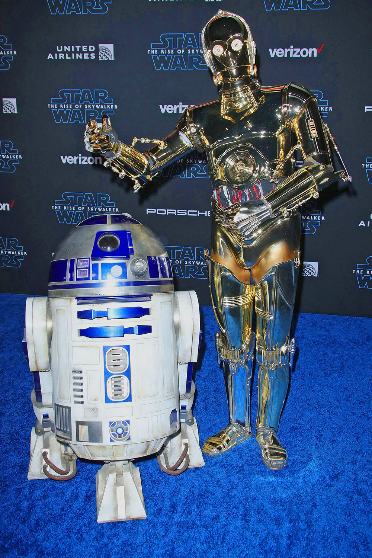 'Star Wars: The Rise of Skywalker' film premiere, Arrivals, Los Angeles, USA - 16 Dec 2019