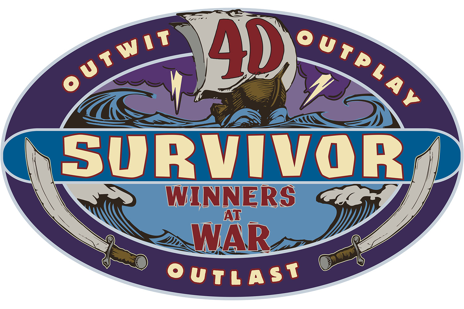 Survivors Winners at War logo