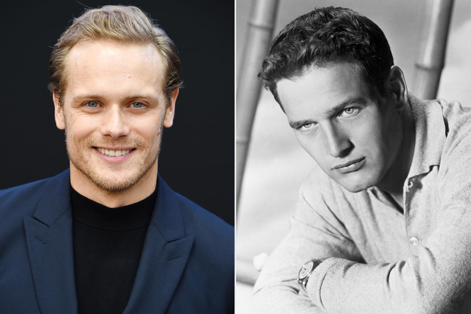 Sam Heughan; Paul Newman