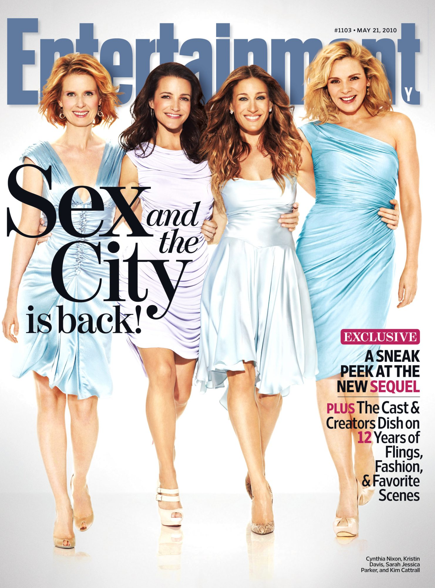 Entertainment Weekly Sex and The City