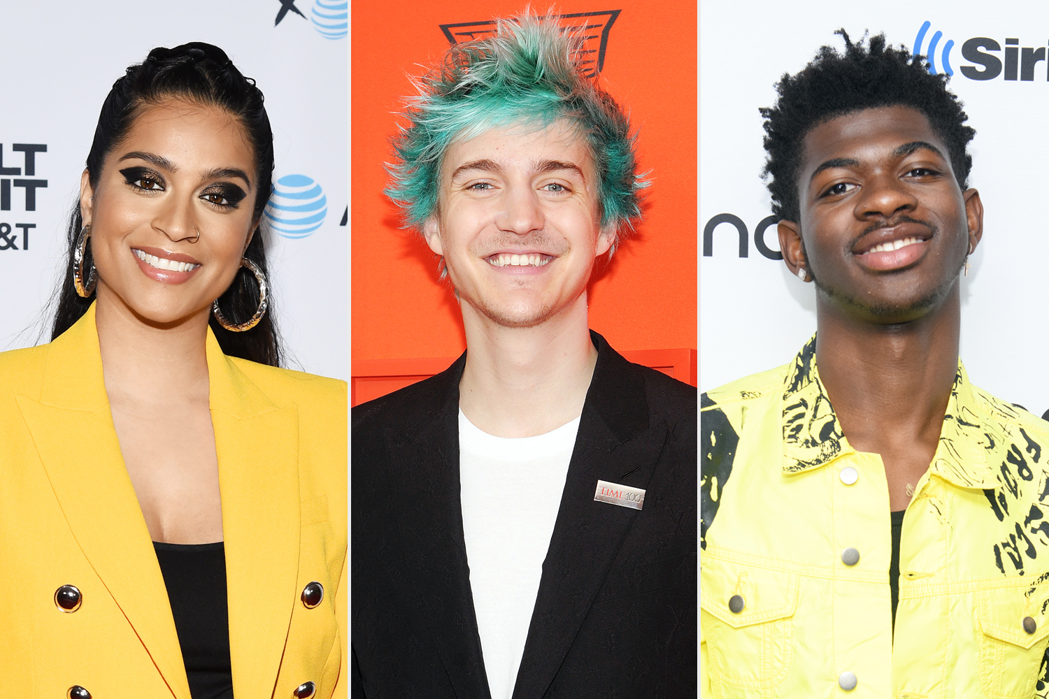 Lilly Singh Tyler Blevins Lil Nas X