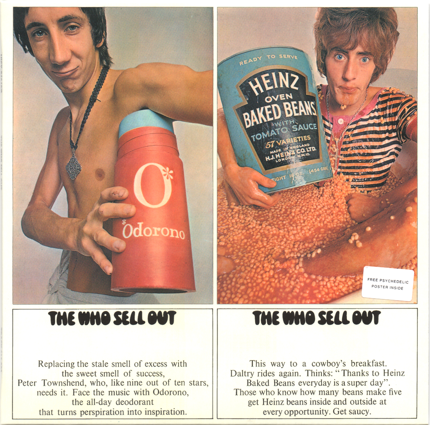 The Who Sell Out (1967) Album Artwork