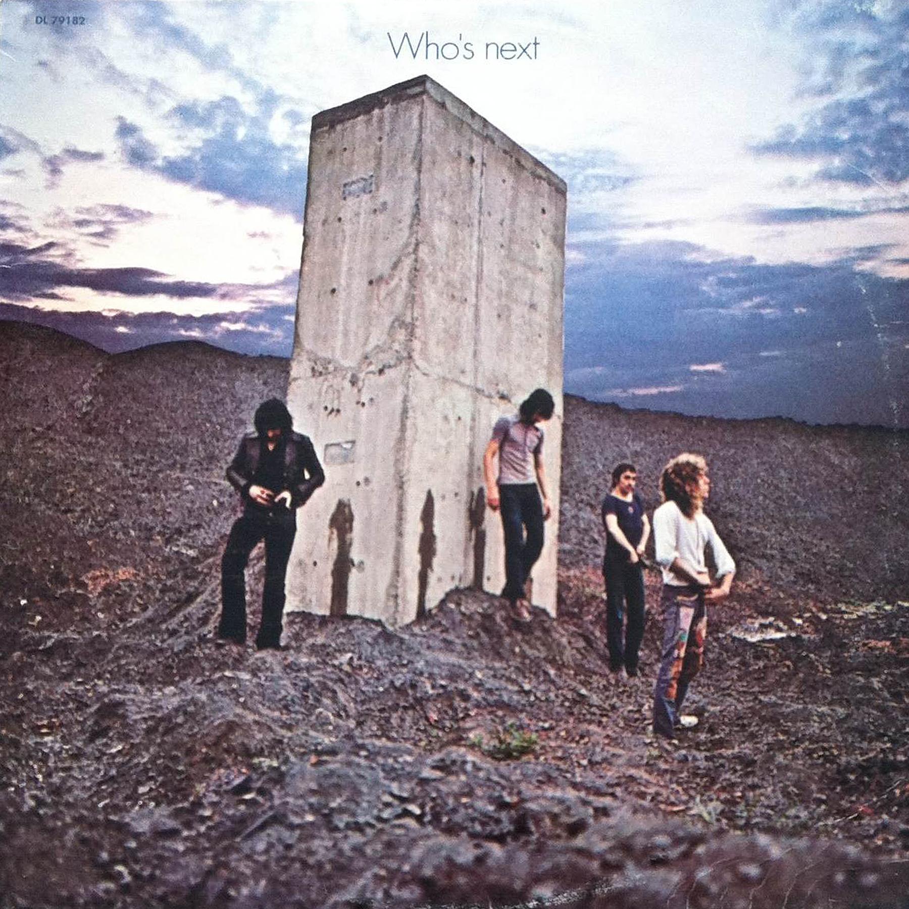Who's Next (1971) Album Artwork