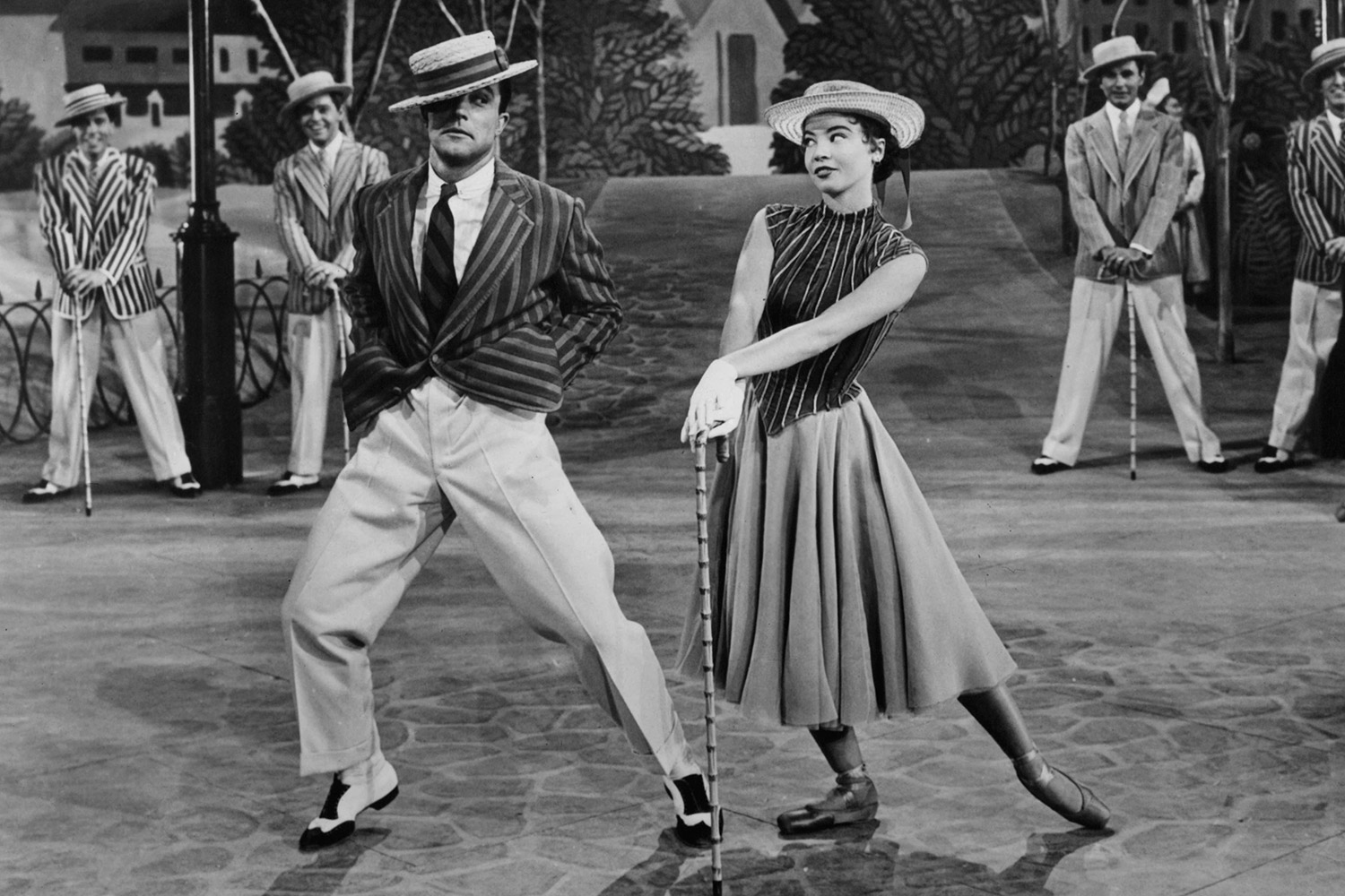 Gene Kelly And Leslie Caron In 'An American In Paris'