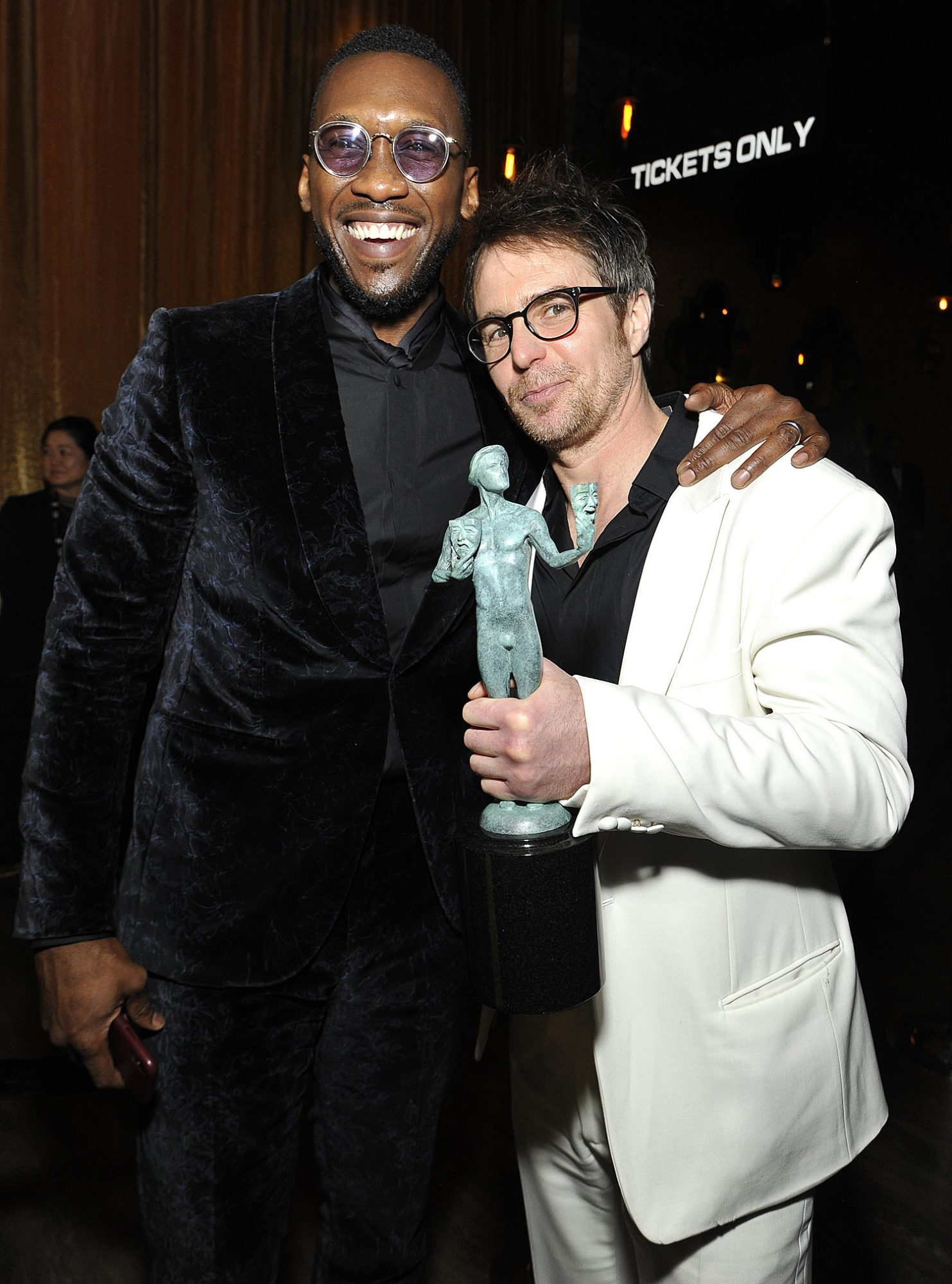 26th Annual Screen Actors Guild Awards - Trophy Room