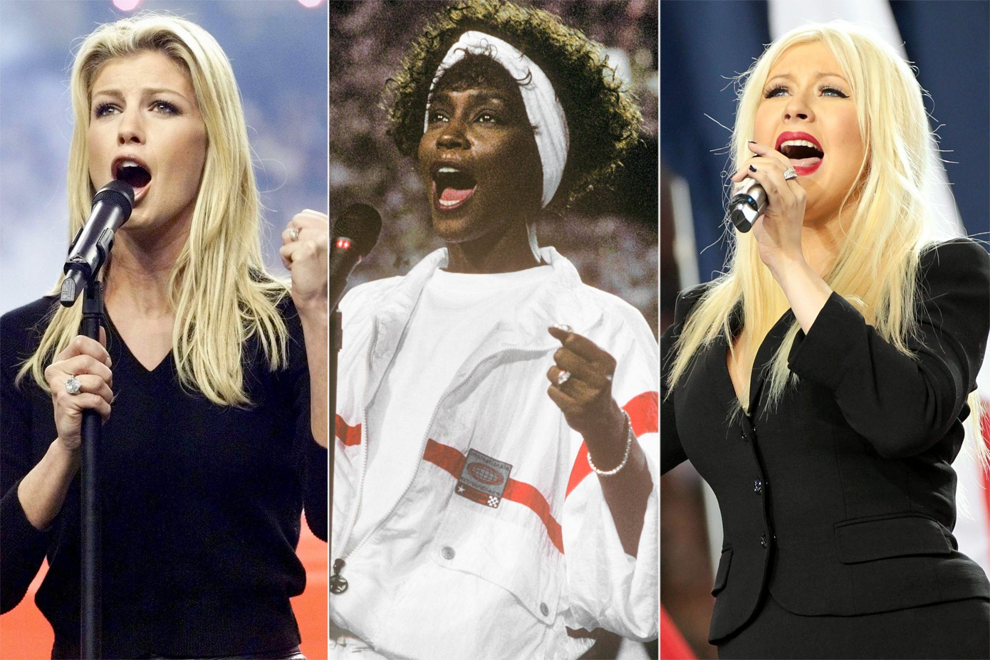 Faith Hill / Whitney Houston / Christina Aguilera