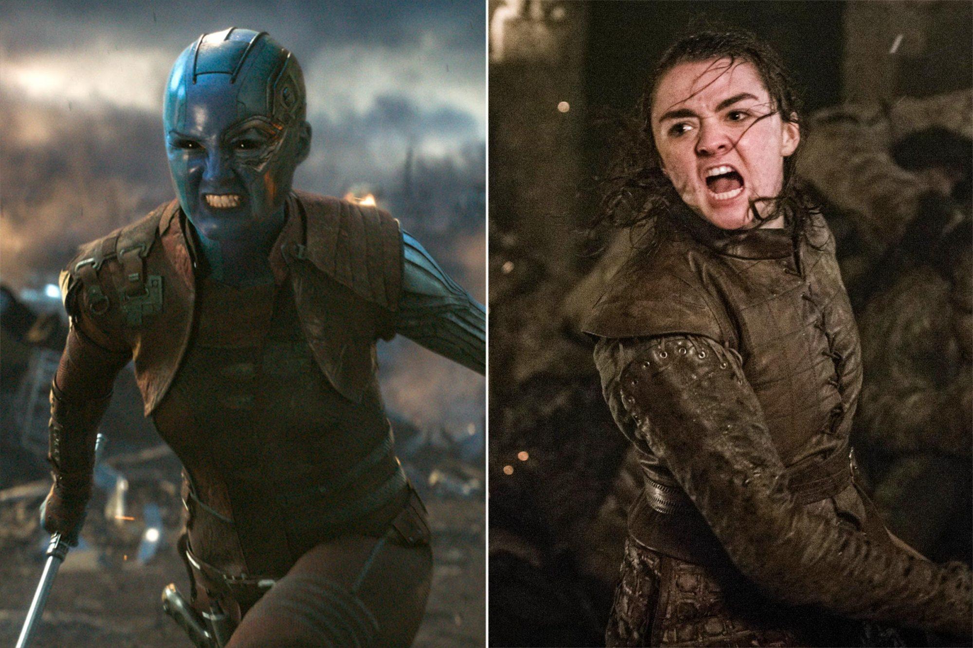 Avengers: Endgame / Game of Thrones