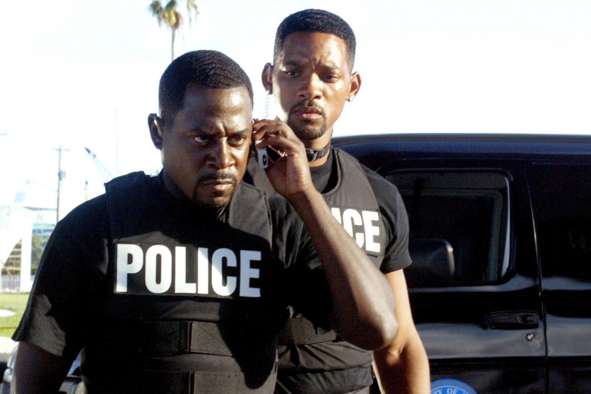 BAD BOYS 2, Martin Lawrence, Will Smith, 2003, (c) Columbia/courtesy Everett Collection