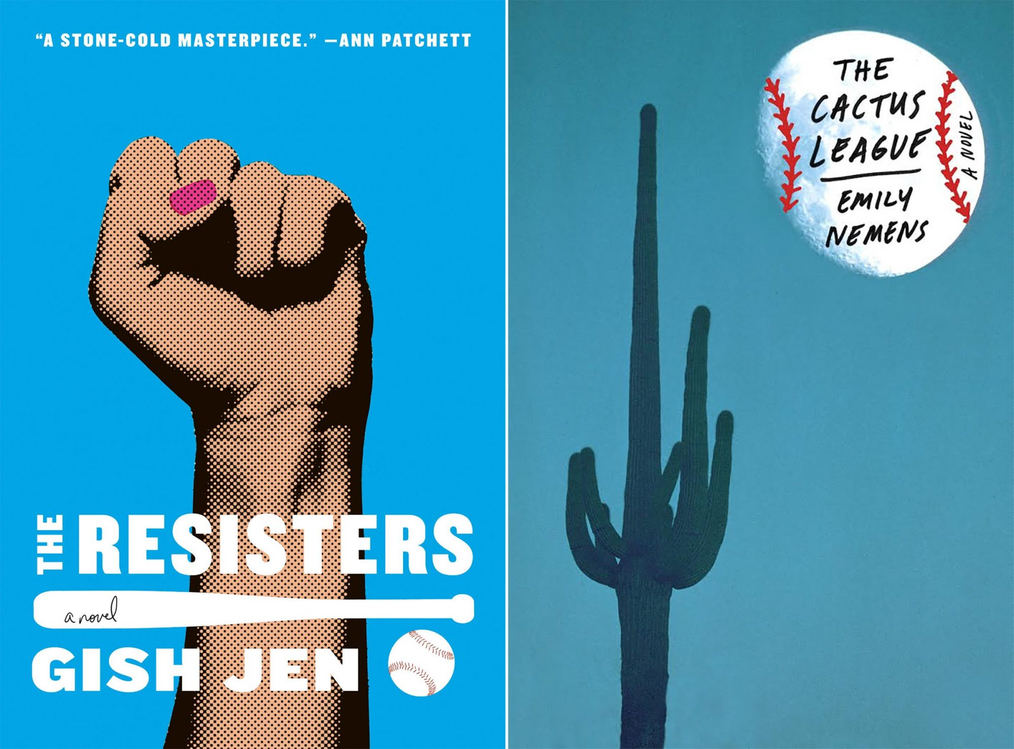 The Resisters by Gish Jen The Cactus League by Emily Nemens