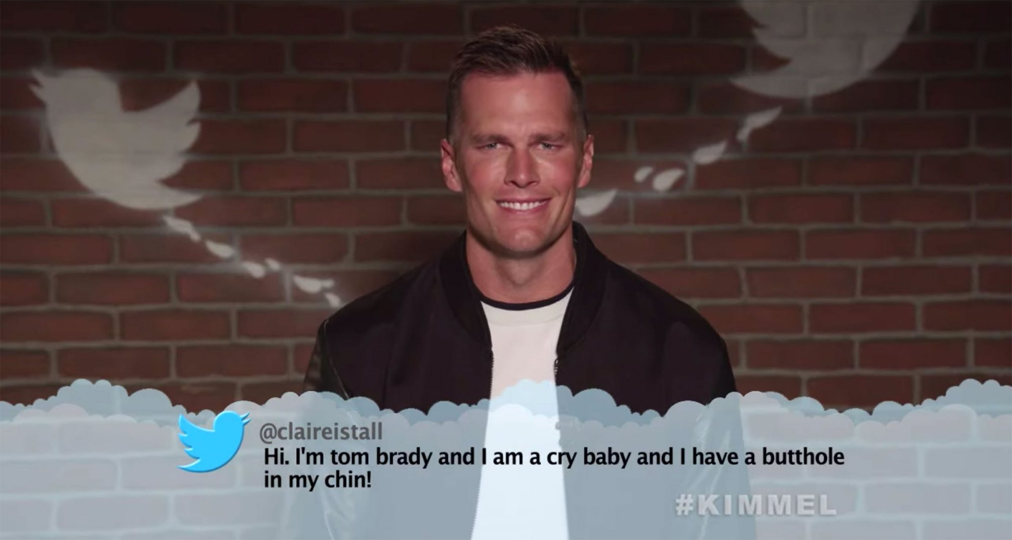 Mean Tweets - NFL Edition #4 Tom Brady Jimmy Kimmel Live