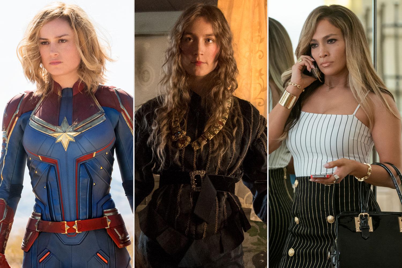 Captain Marvel, Little Women, Hustlers