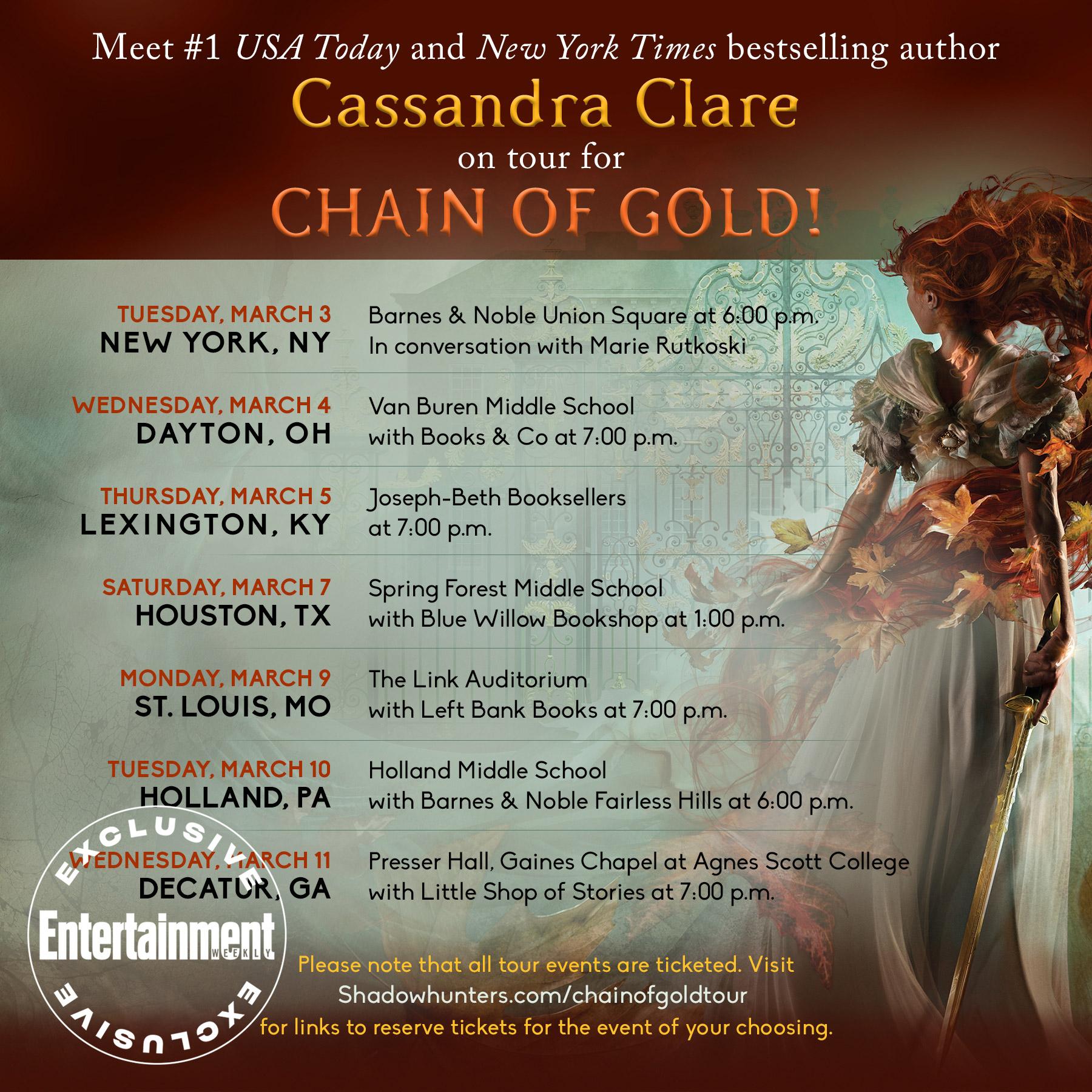 cassandra-clare-schedule