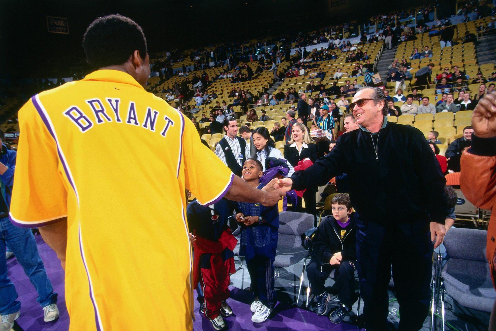 Kobe Bryant and Jack Nicholson