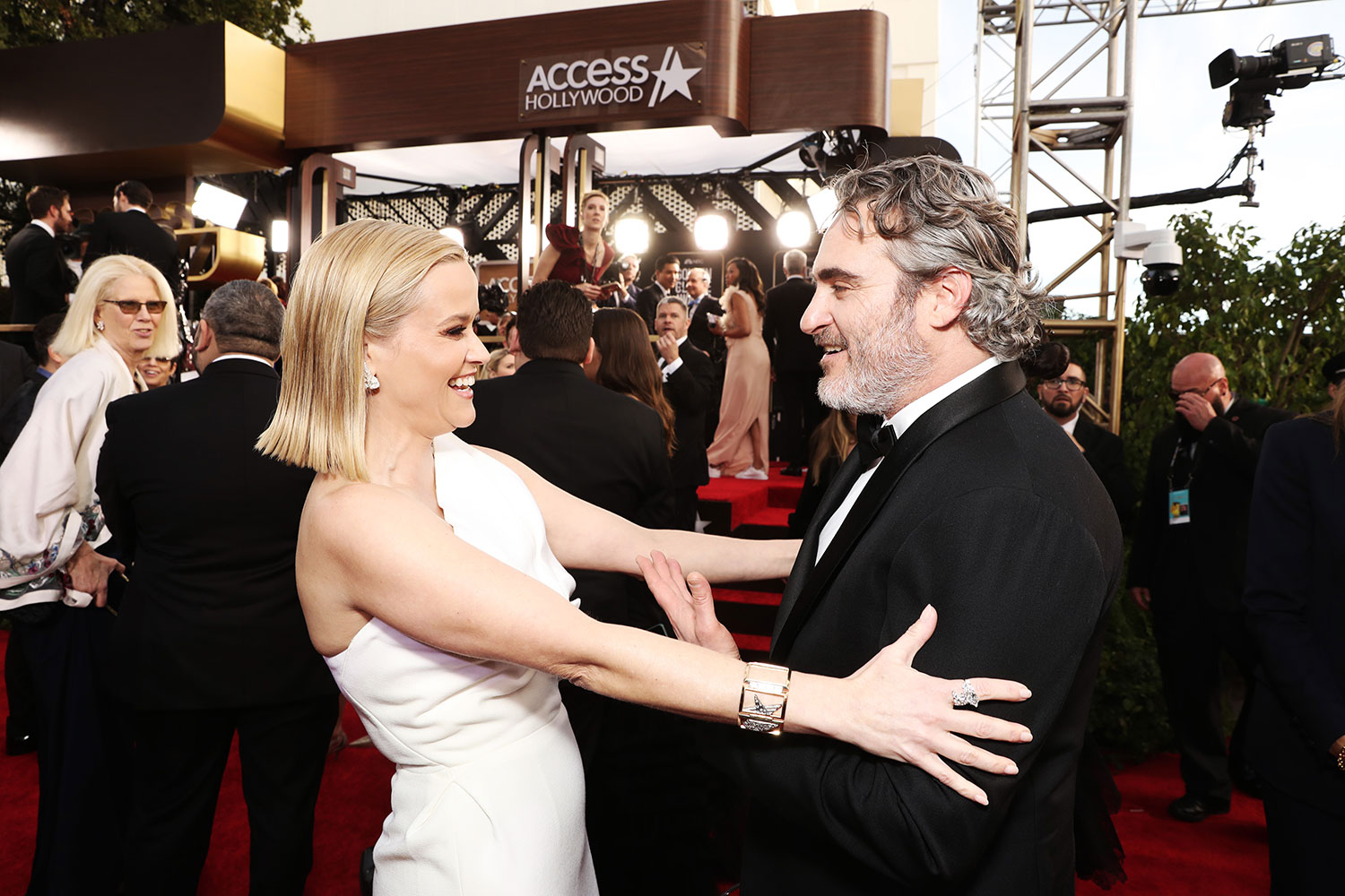 Reese Witherspoon and Joaquin Phoenix