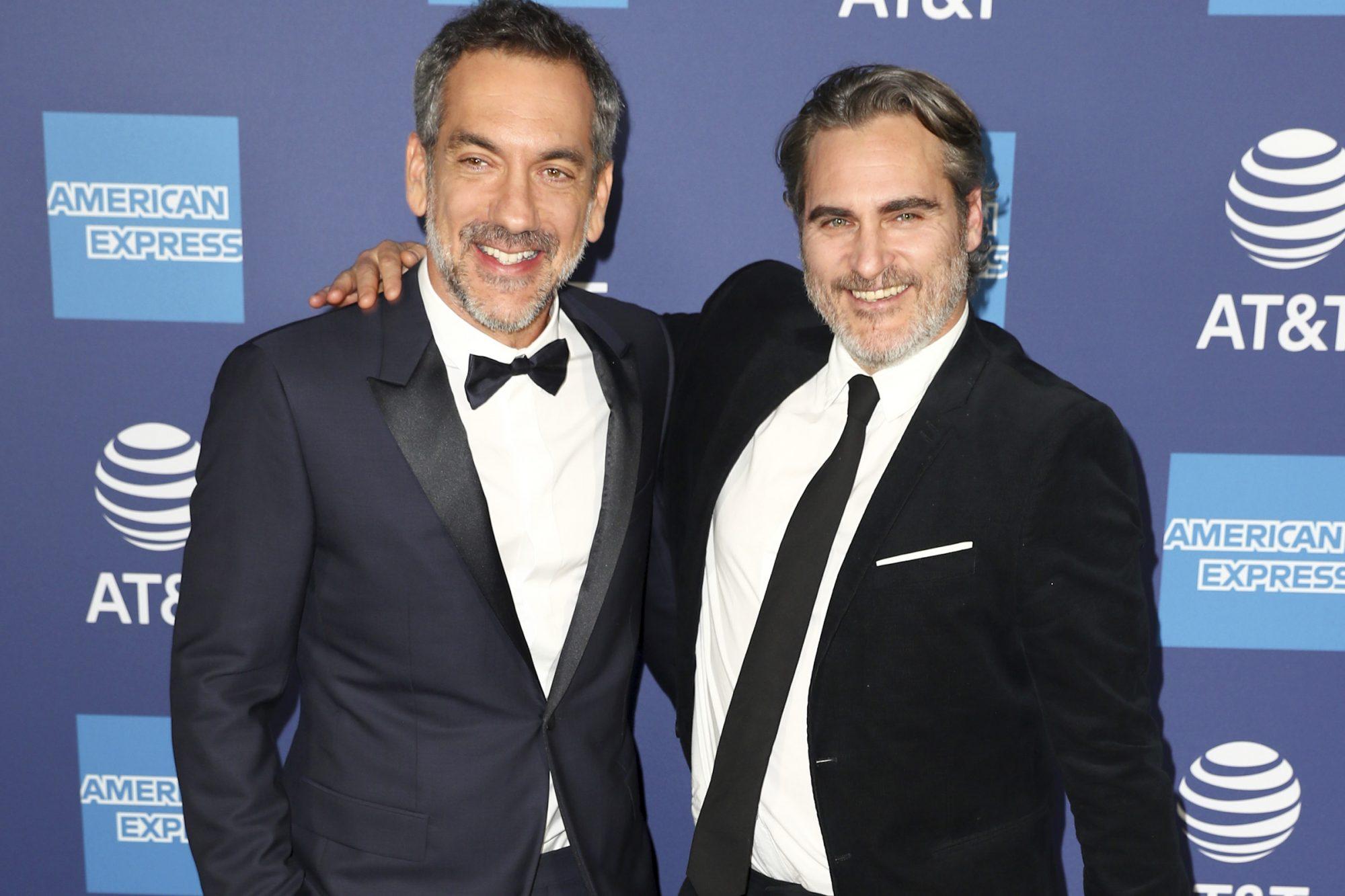 Todd Phillips and Joaquin Phoenix