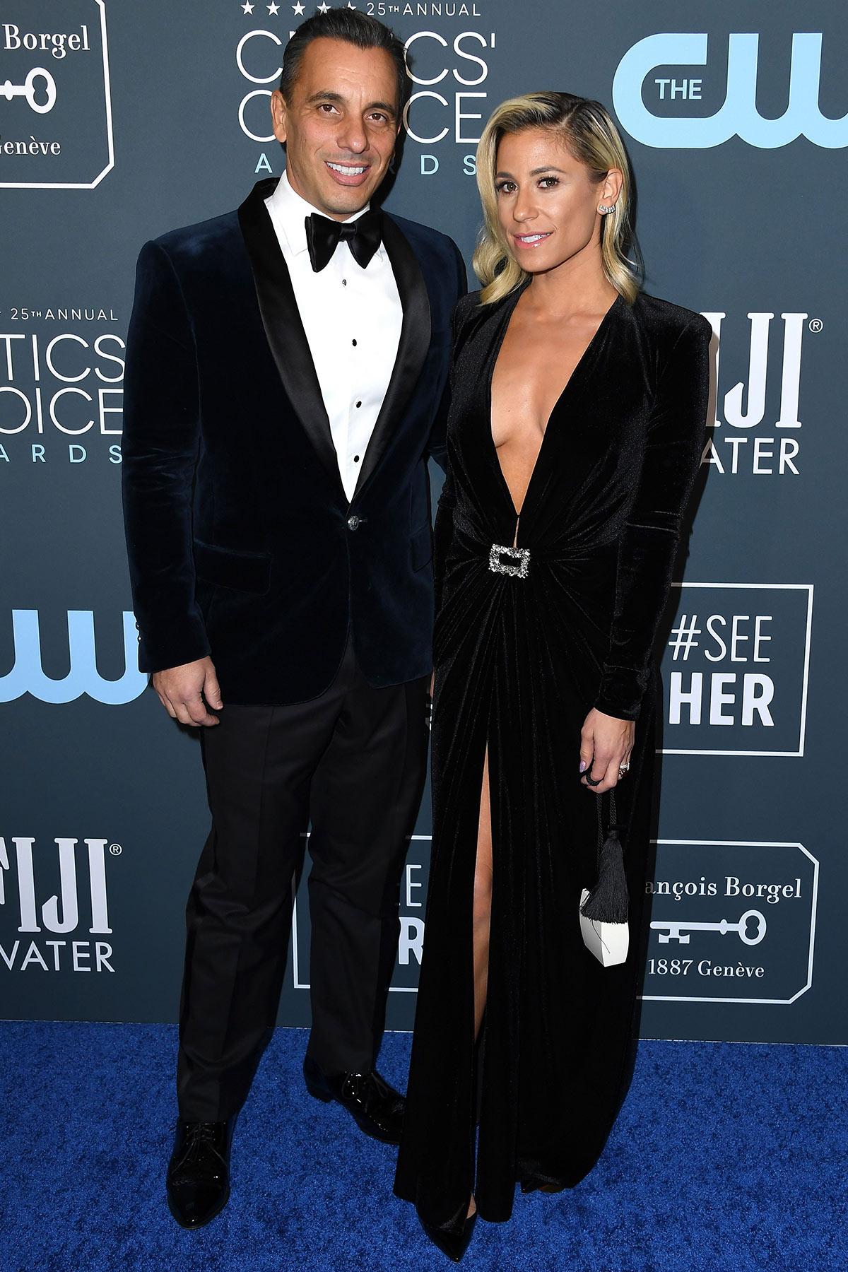 Sebastian Maniscalco and Lana Gomez
