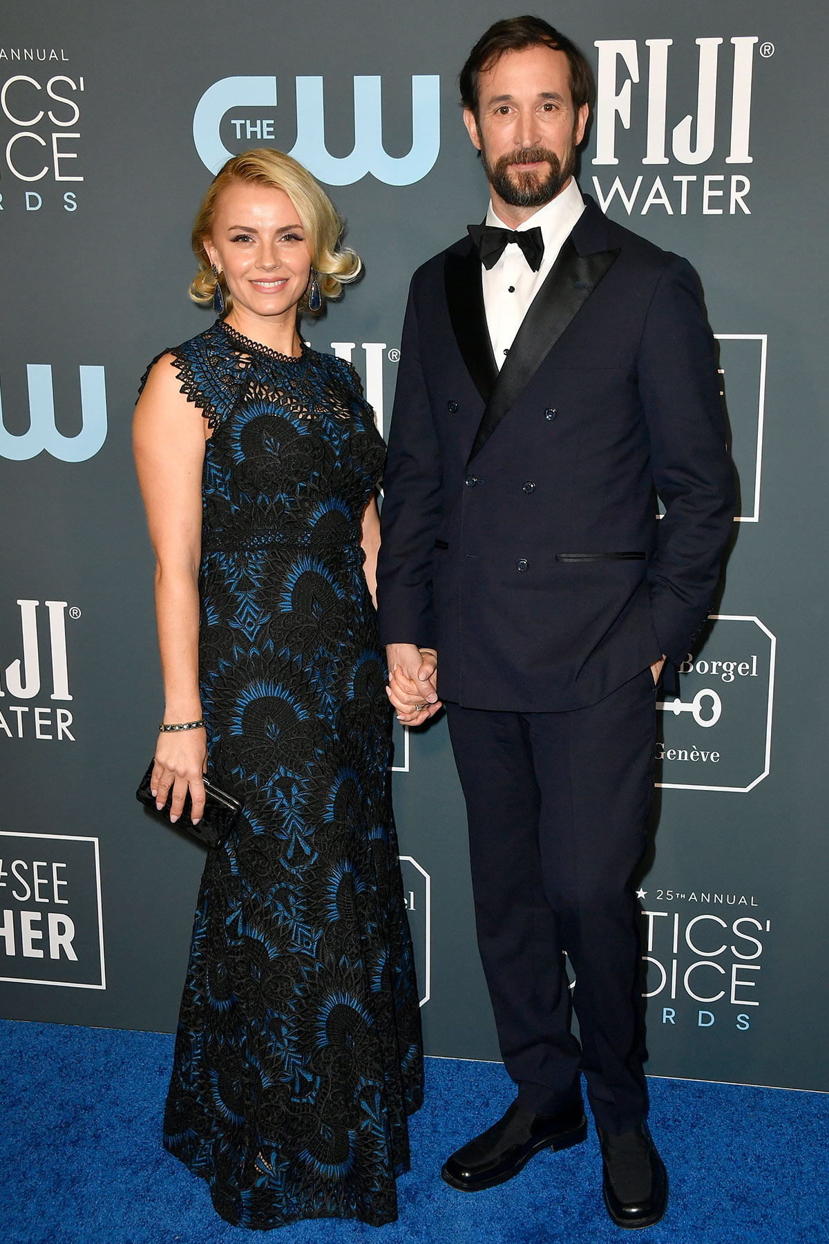 Sara Wells and Noah Wyle