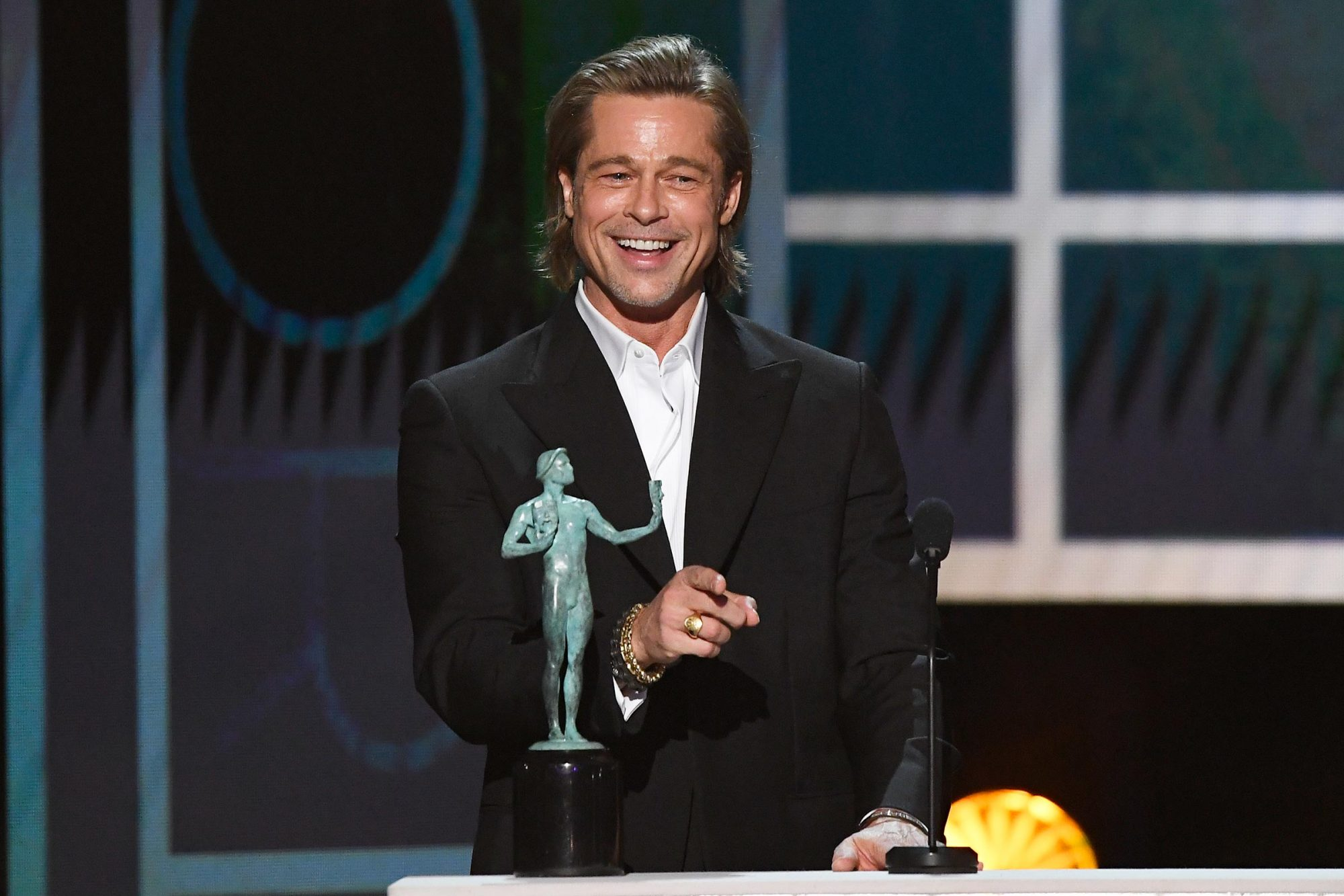Brad Pitt — Best Supporting Actor in a Motion Picture