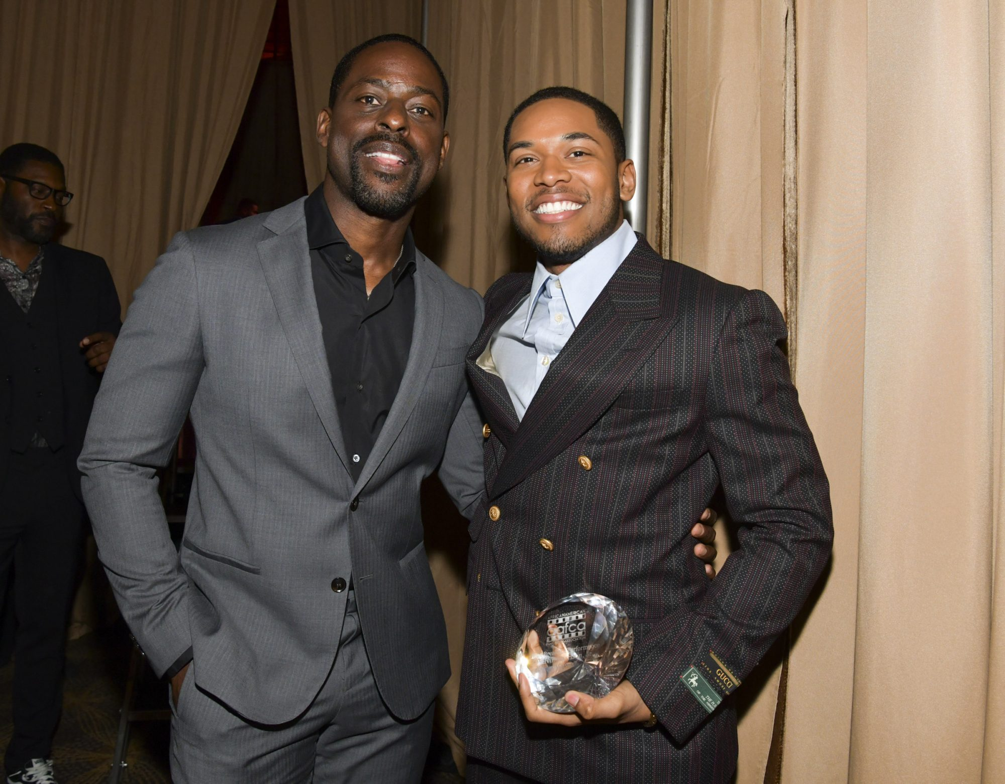 Sterling K. Brown and Kelvin Harrison Jr.