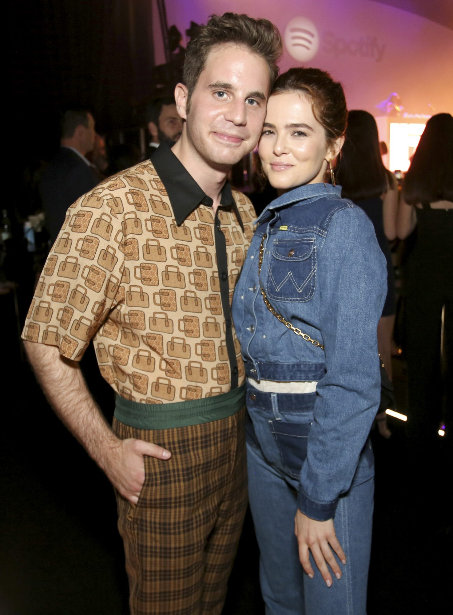 Ben Platt and Zoey Deutch