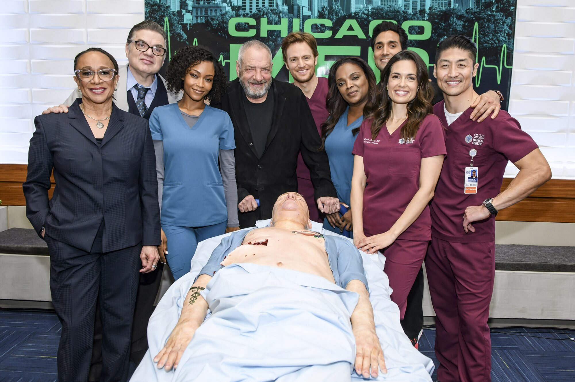 Cast chicago med