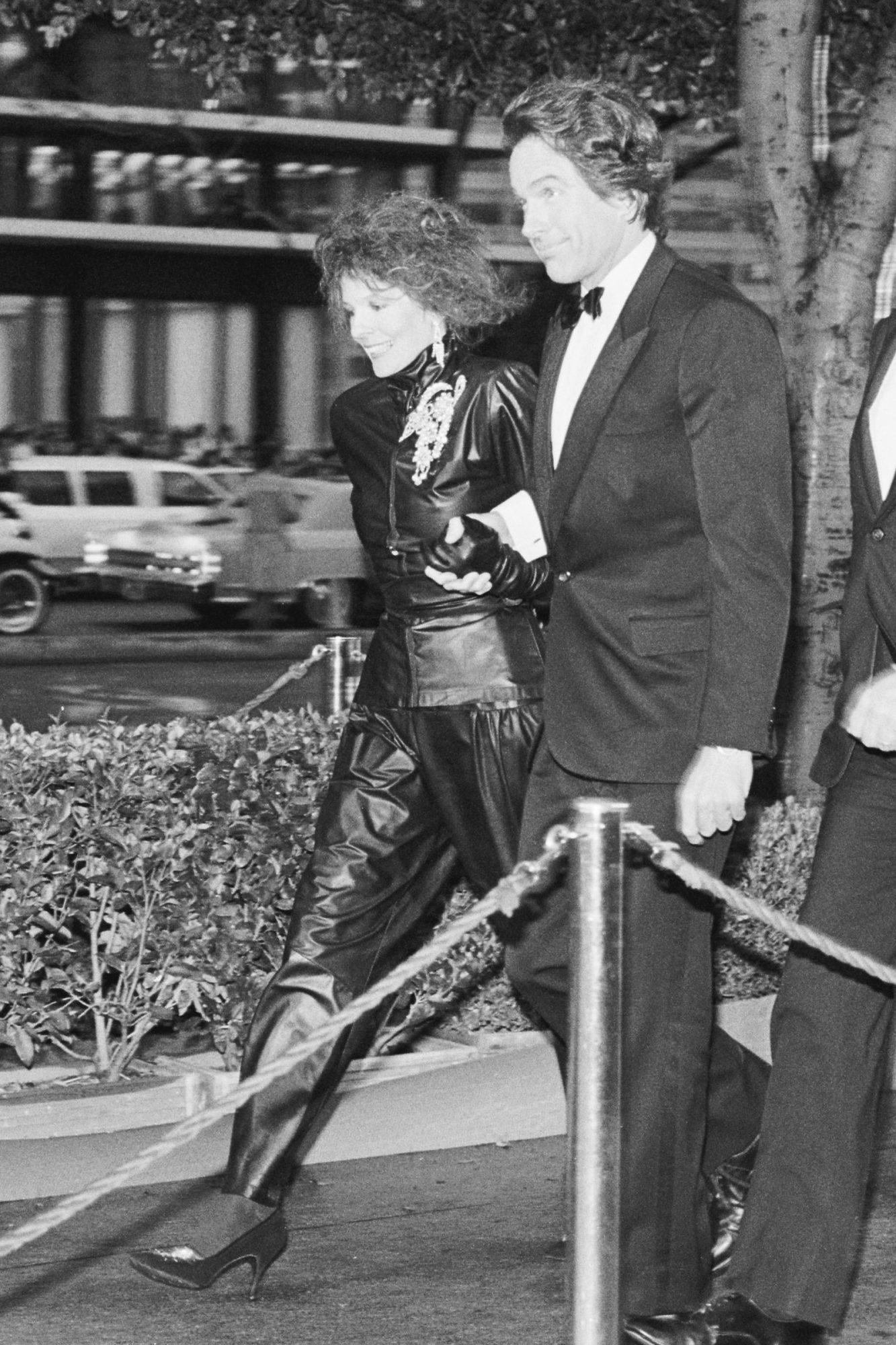 Diane Keaton and Warren Beatty Arriving