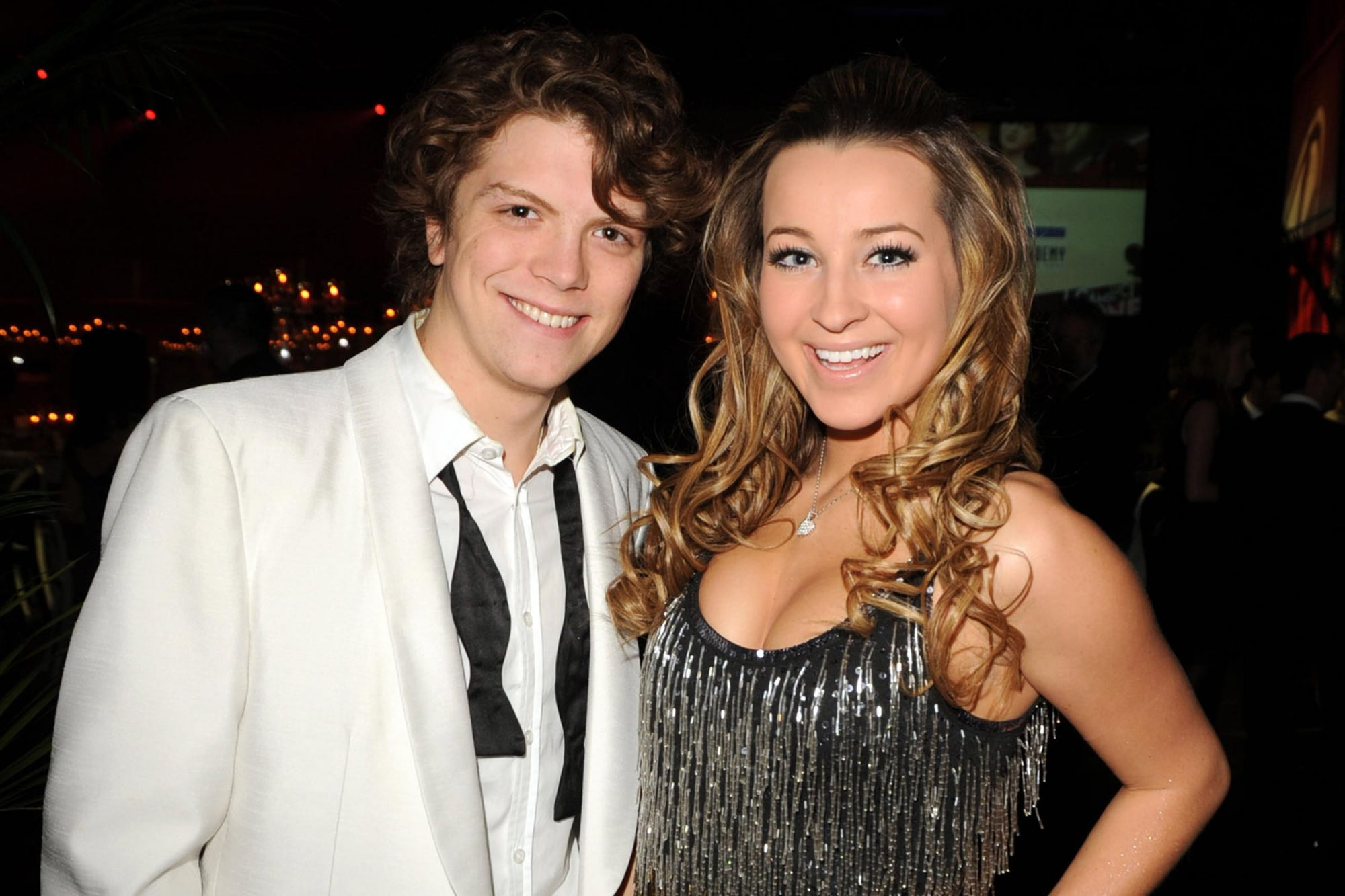 Michael Seater and Ashley Leggat
