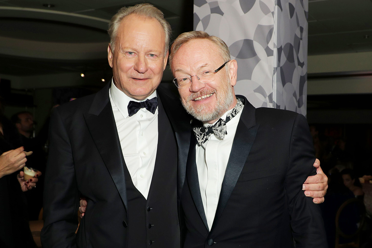 Stellan Skarsgard and Jared Harris