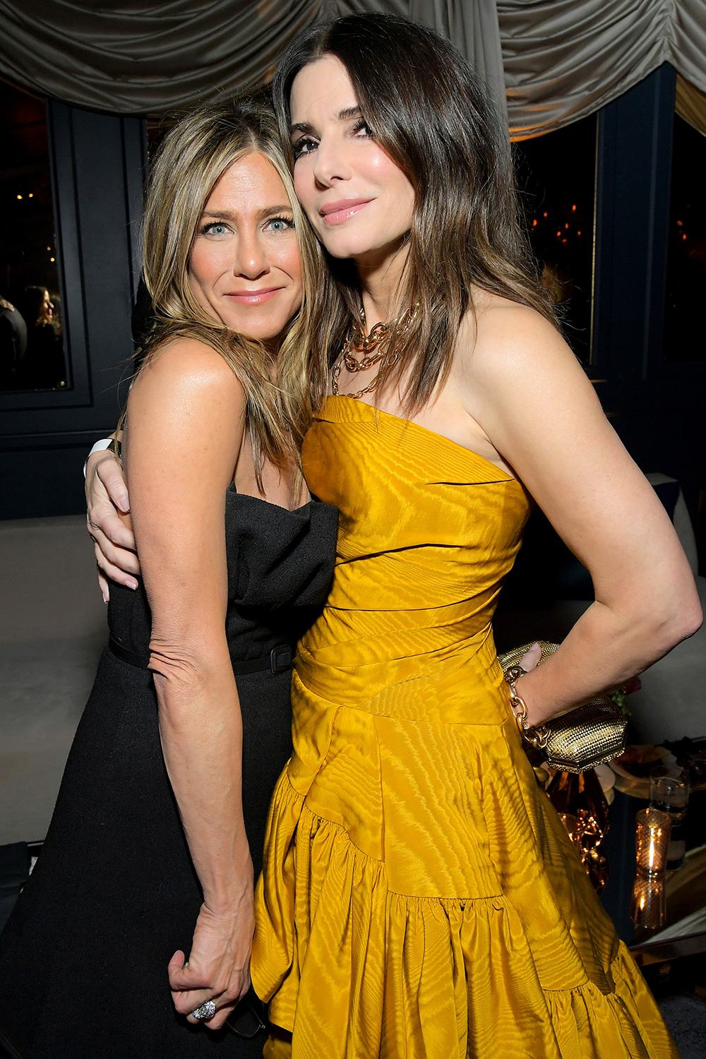 Jennifer Aniston and Sandra Bullock