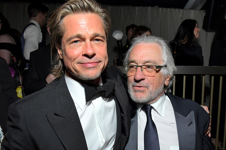 Brad Pitt and Robert De Niro