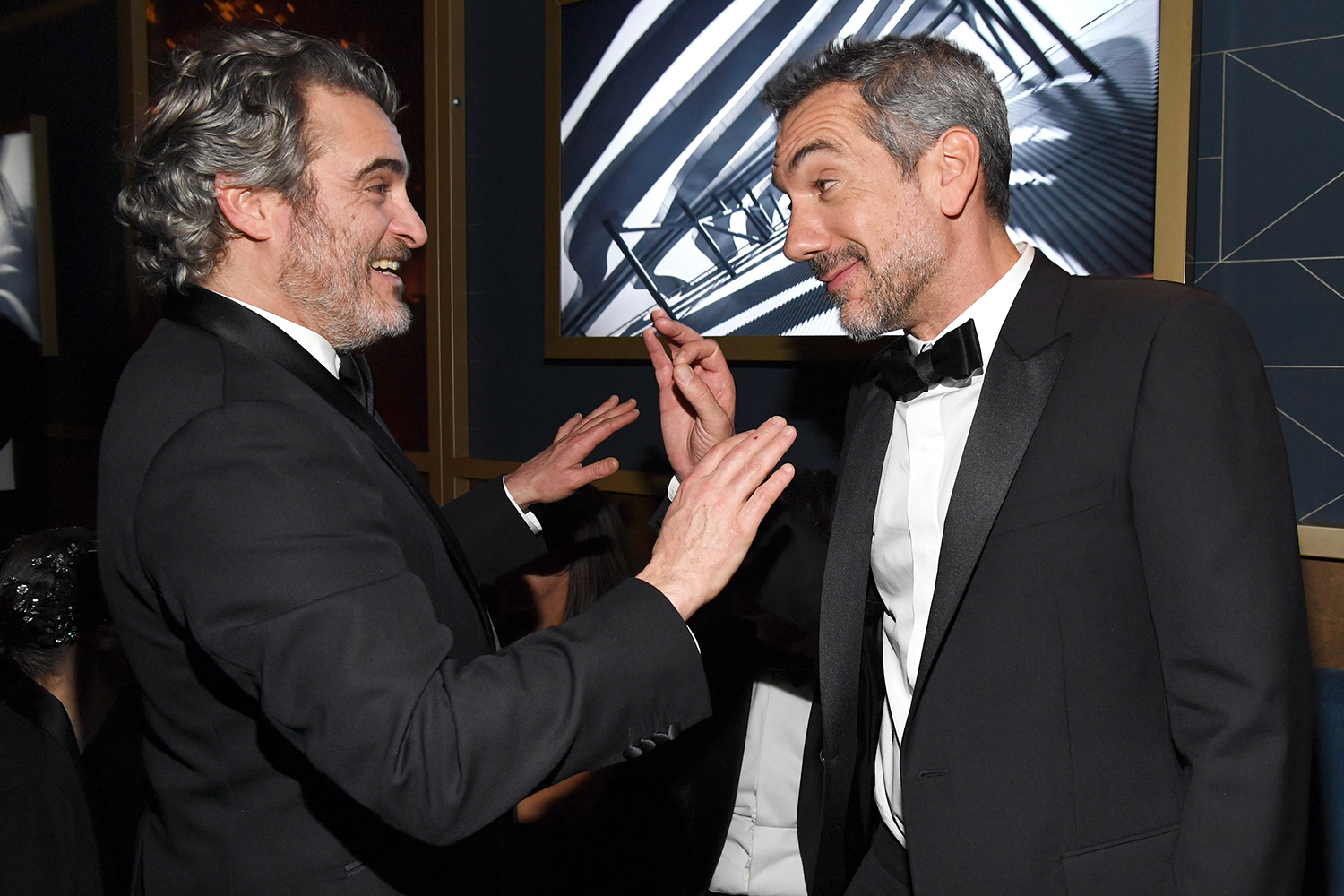 Joaquin Phoenix and Todd Phillips