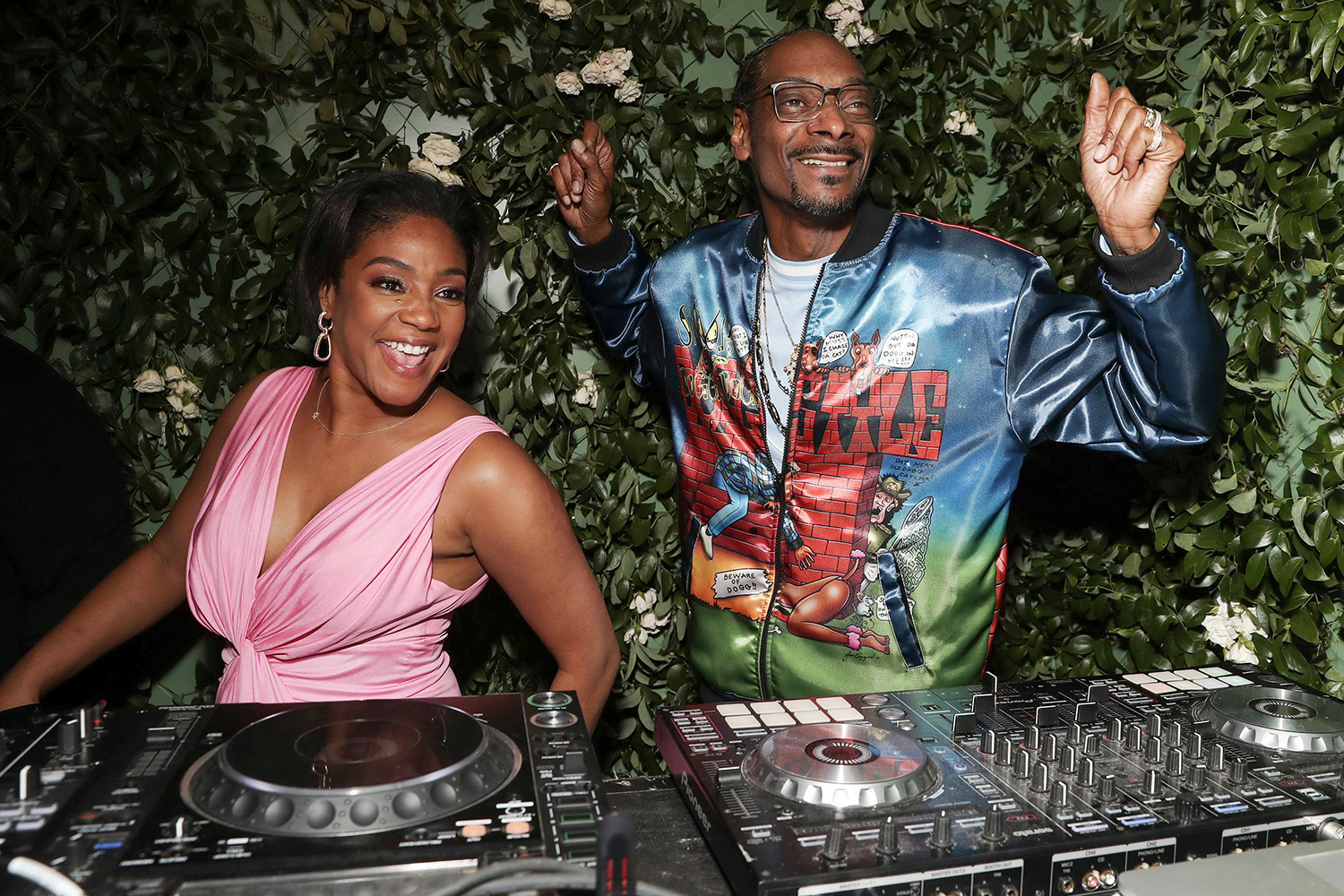 Tiffany Haddish and Snoop Dogg