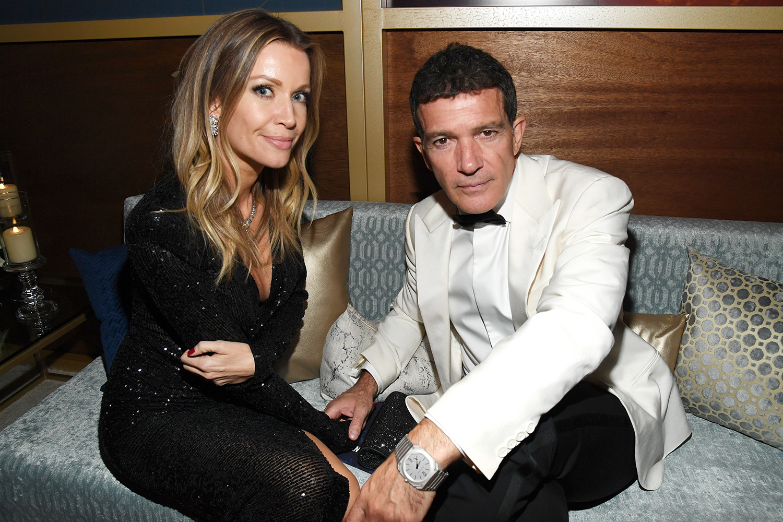 Nicole Kempel and Antonio Banderas